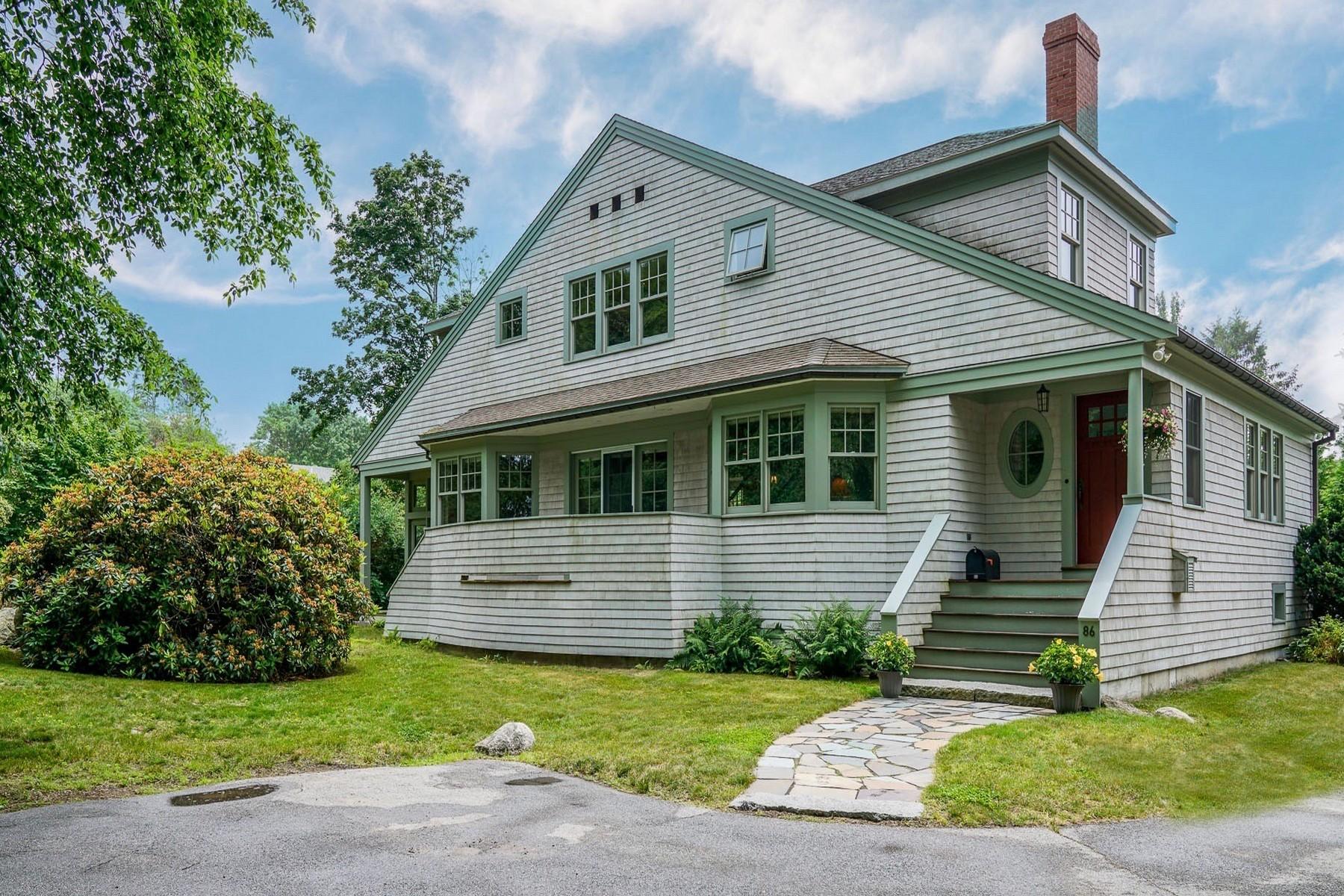 Eensgezinswoning voor Verkoop een t Elegant Arts & Crafts 86 Eastern Point Boulevard Gloucester, Massachusetts 01930 Verenigde Staten