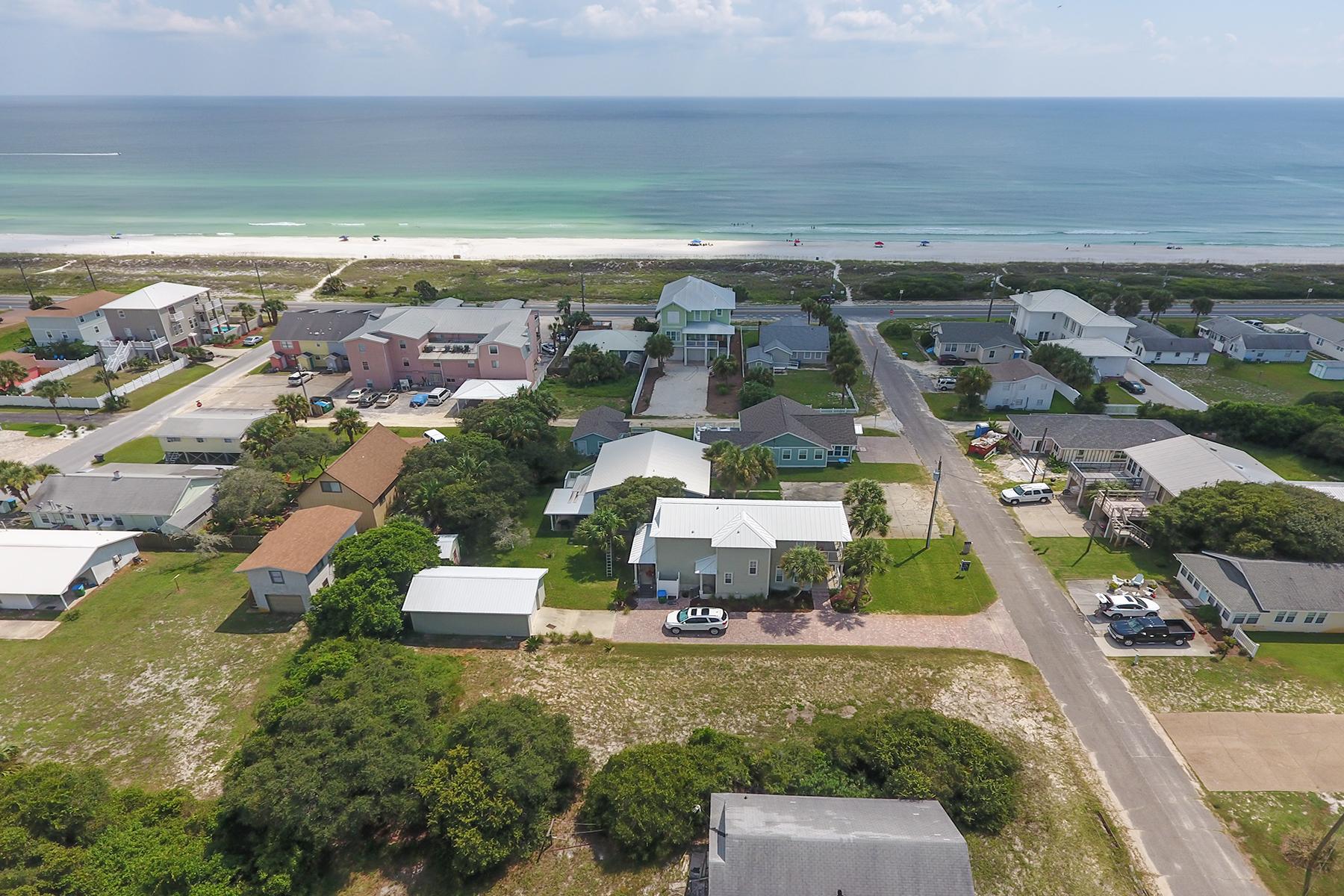 Terreno para Venda às NICE LEVEL LOT SHORT WALK TO PRIVATE DEDICATED BEACH 128 3rd Street Panama City Beach, Florida, 32413 Estados Unidos