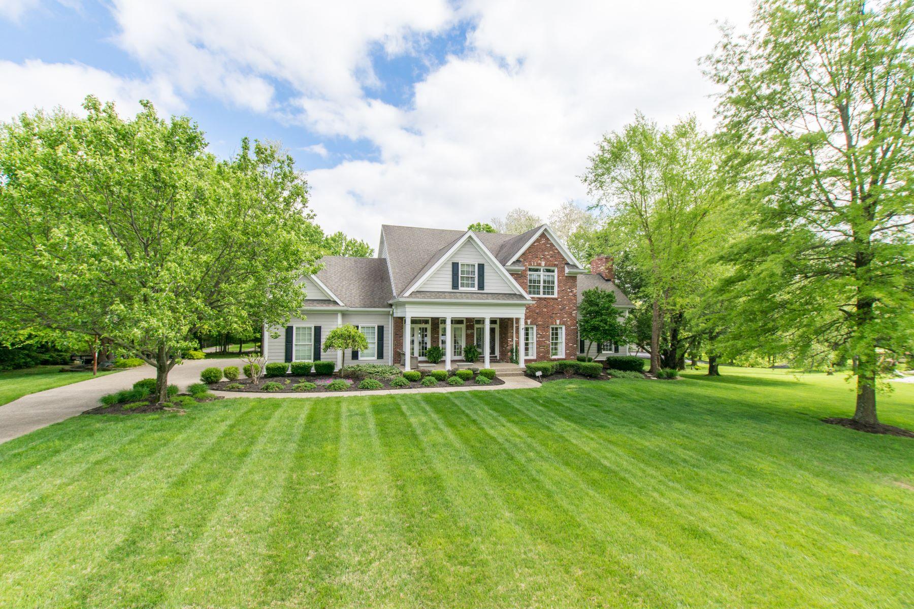 Частный односемейный дом для того Продажа на 13000 Reading Road Goshen, Кентукки, 40026 Соединенные Штаты