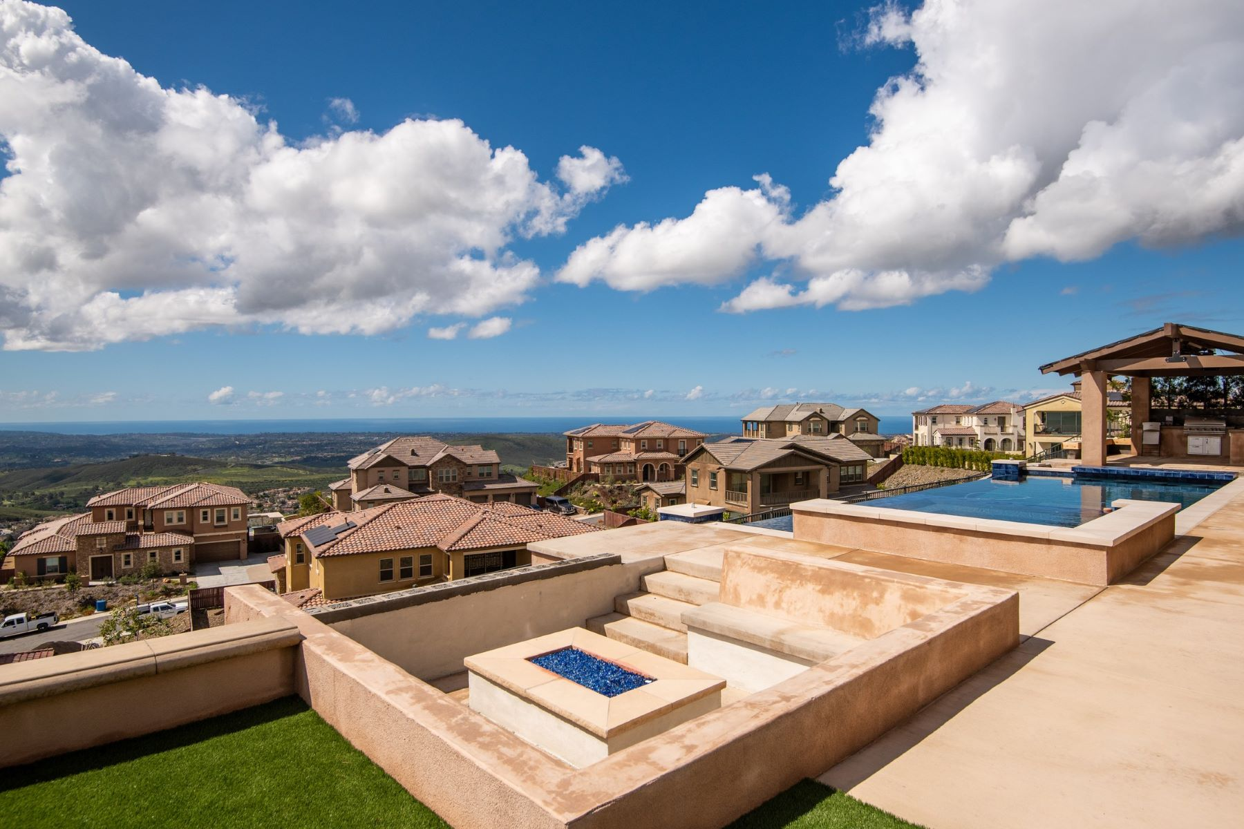 Single Family Homes for Sale at Spectacular Ocean & Mountain Views 1117 Jasper Court San Marcos, California 92078 United States