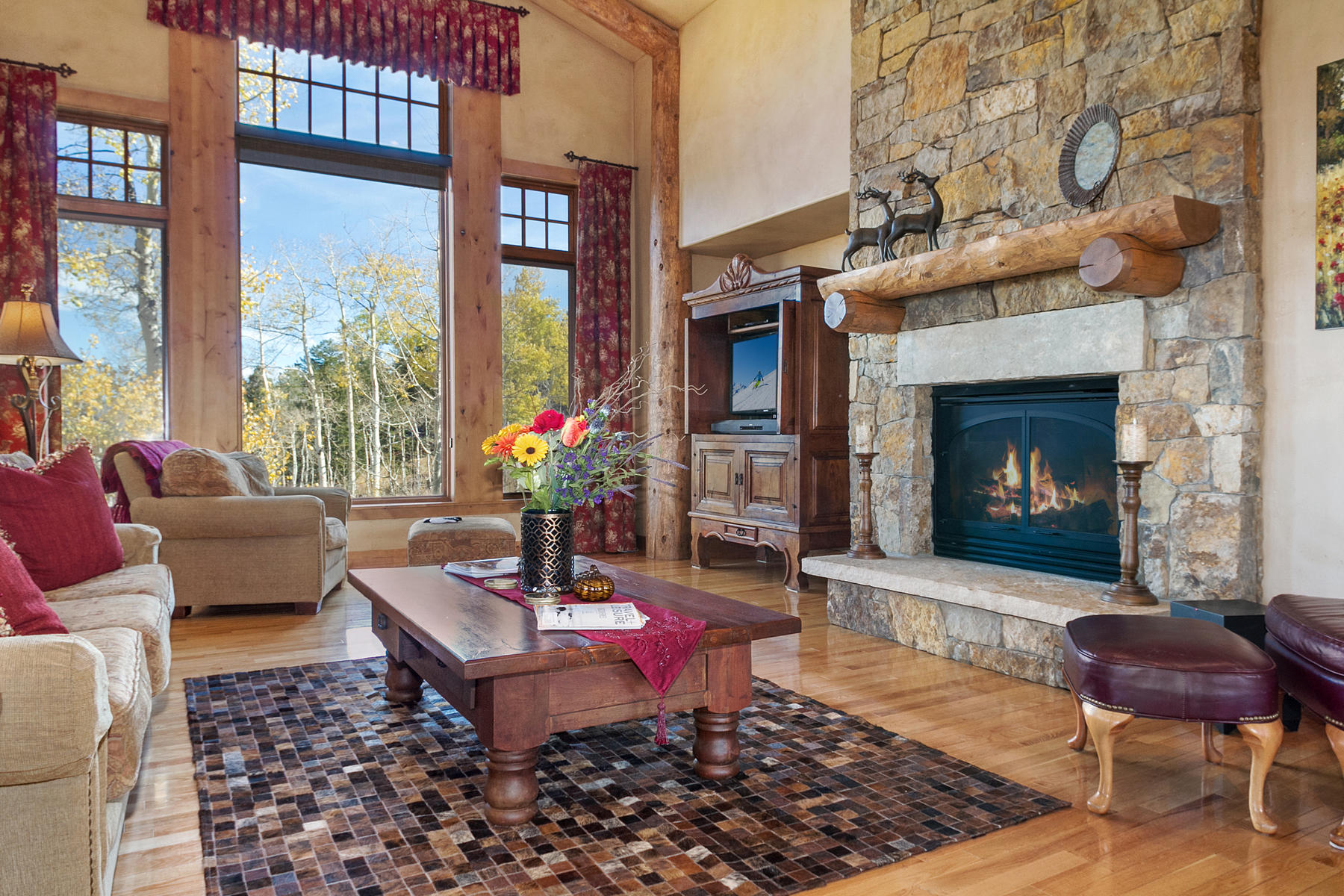 Single Family Home for Active at Cordillera Summit view with three master suites 21 Pommel Place Edwards, Colorado 81632 United States