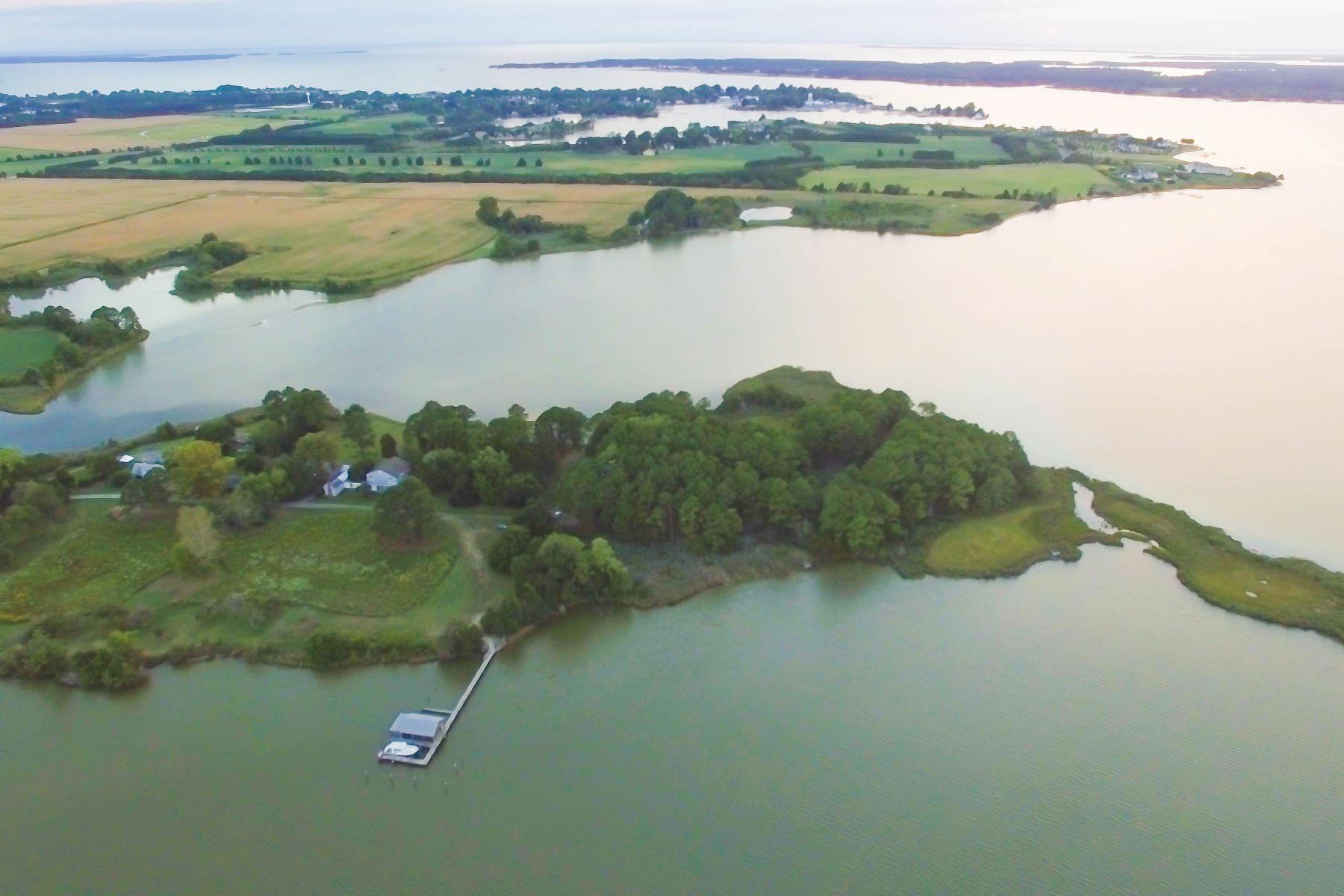 토지 용 매매 에 Long Point Preserve 5252 Long Point Farm Drive Lot 8 Oxford, 메릴랜드, 21654 미국