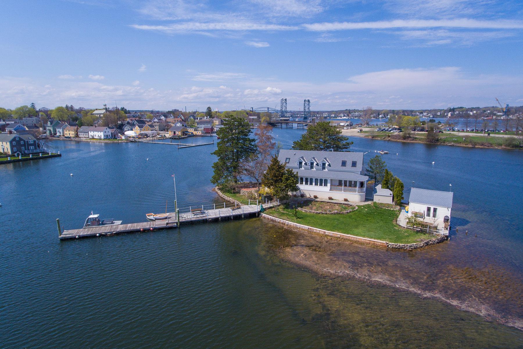 Private Islands 为 销售 在 1 Round Island 朴茨茅斯, 新罕布什尔州 03801 美国