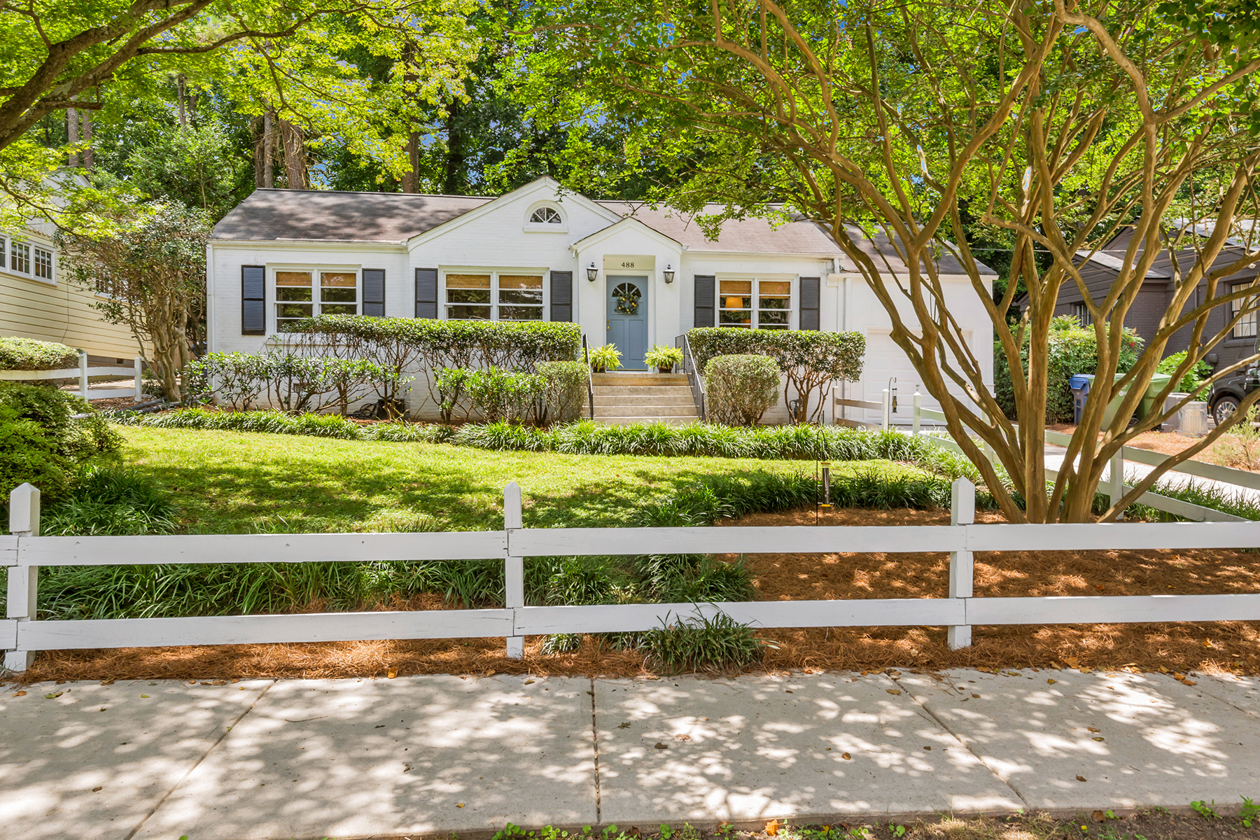 Single Family Home for Sale at Classic Collier Hills Cape Cod 488 Overbrook Drive NW Atlanta, Georgia 30318 United States