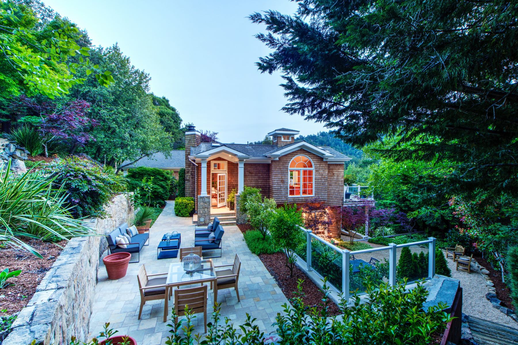 Single Family Homes for Sale at Serene Mill Valley Sanctuary 365 Lovell Ave Mill Valley, California 94941 United States