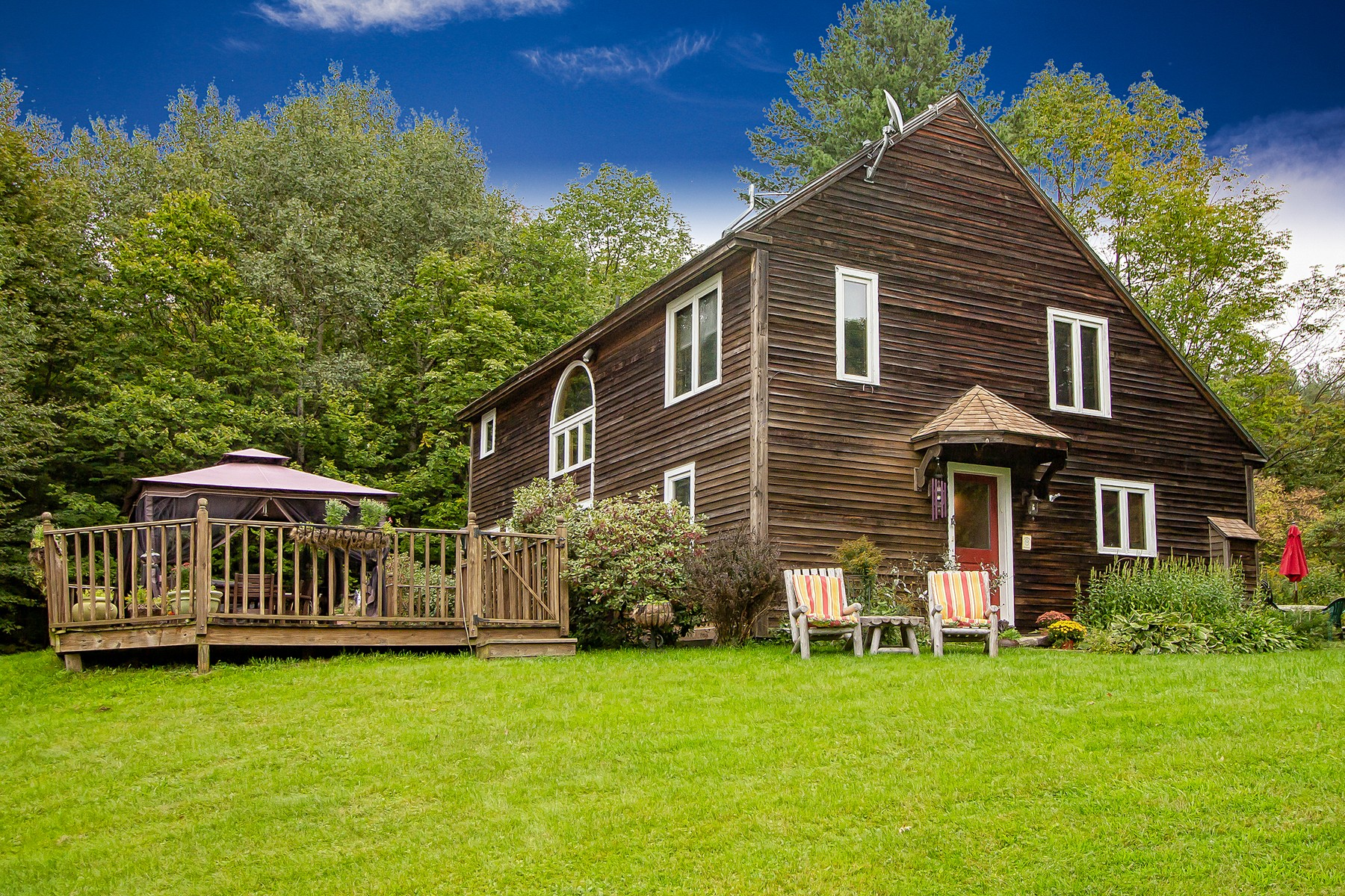 Single Family Homes for Sale at Post and Beam with Mountain View 146 Minor Rd Wilmington, Vermont 05363 United States