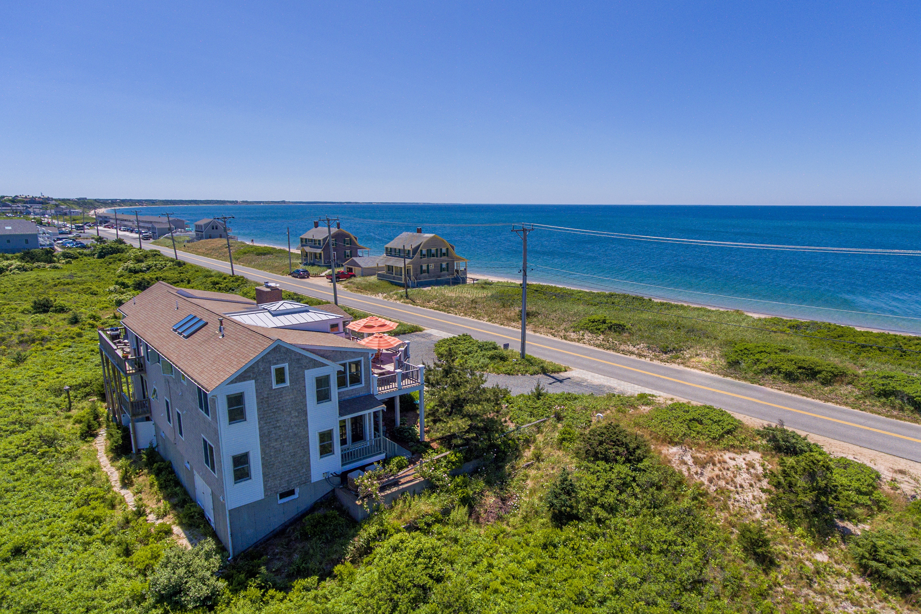Single Family Homes for Active at Enjoy unobstructed views of the bay 257 Shore Road North Truro, Massachusetts 02666 United States