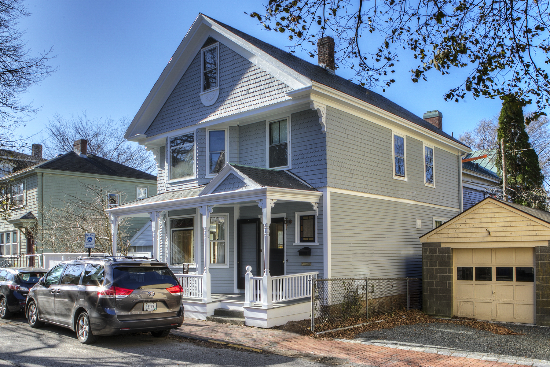 Additional photo for property listing at Henry J. Jones House 21 Division Street Newport, Rhode Island 02840 United States