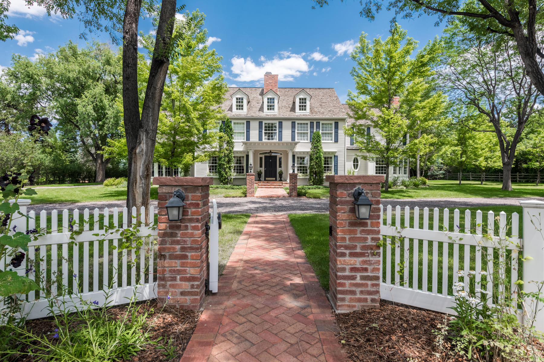 Property for Active at This elegant country manor is richly appointed and recently updated throughout 4682 S Franklin St Englewood, Colorado 80113 United States