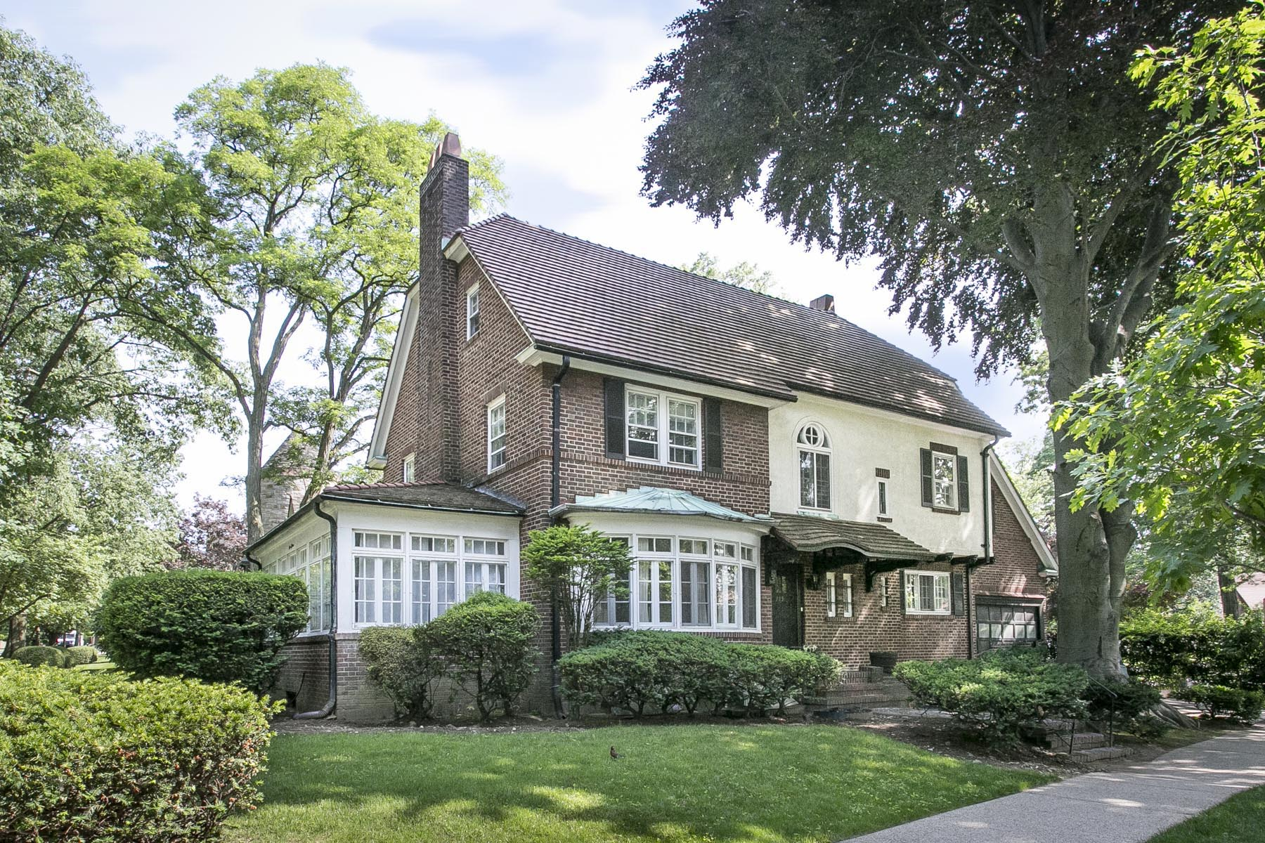 "Single Family Home for Sale at ""CORNER SETTING ON EMBASSY ROW"" 115 Greenway North, Forest Hills, 11375 United States"