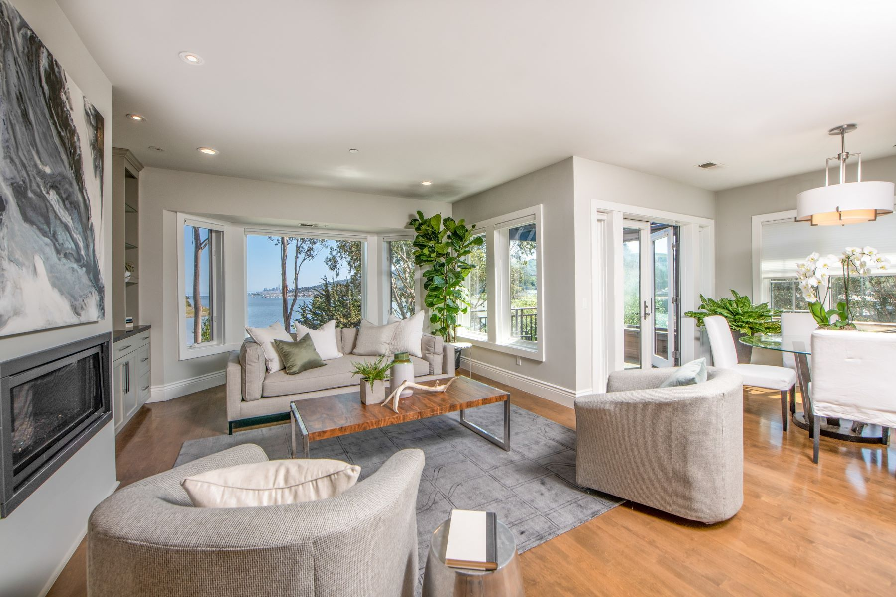 Single Family Homes for Sale at Stunning Remodel with San Francisco Views 40 De Silva Island Drive Mill Valley, California 94941 United States