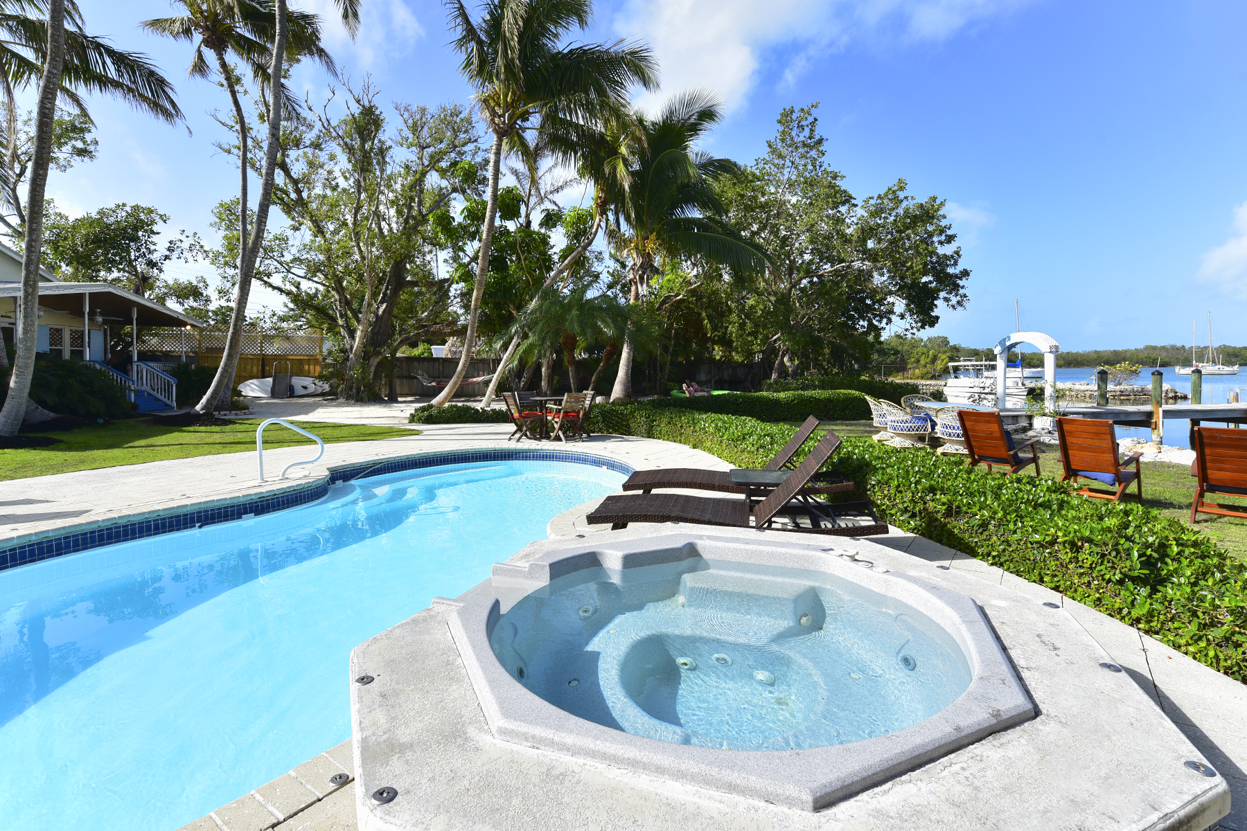 Single Family Home for Rent at Butterfly Haven 81912 Overseas Highway Islamorada, Florida 33036 United States