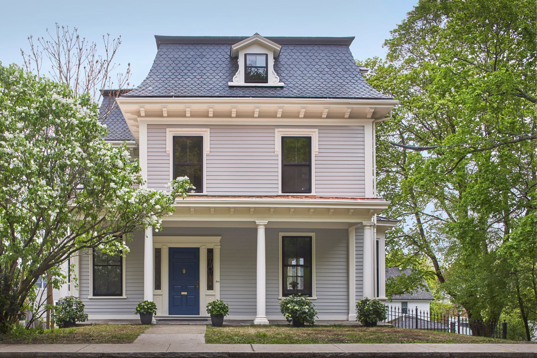 Single Family Home for Active at 500 Pleasant Street Belmont, Massachusetts 02478 United States