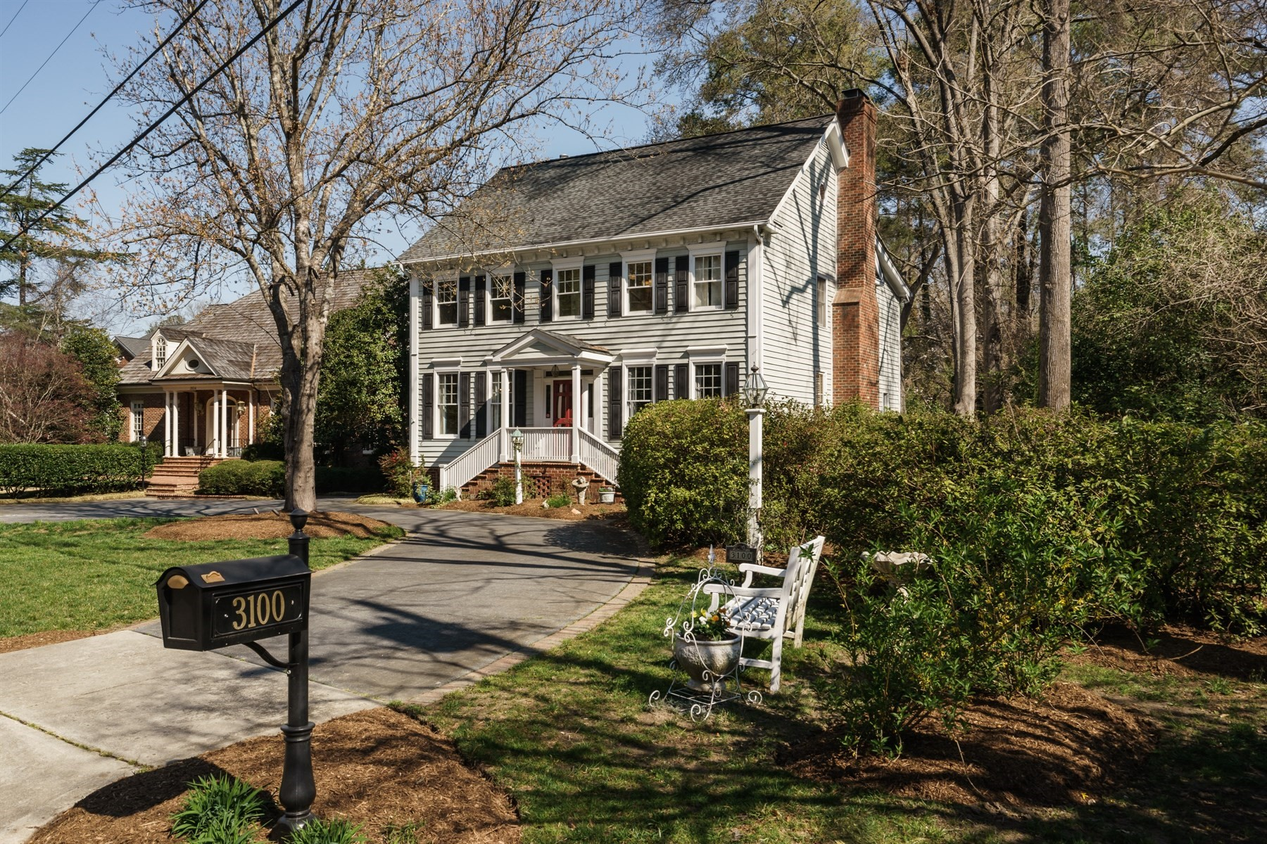 Single Family Home for Sale at Well Kept Classic Home on White Oak Road 3100 White Oak Road Raleigh, North Carolina, 27609 United StatesIn/Around: Durham, Chapel Hill, Cary