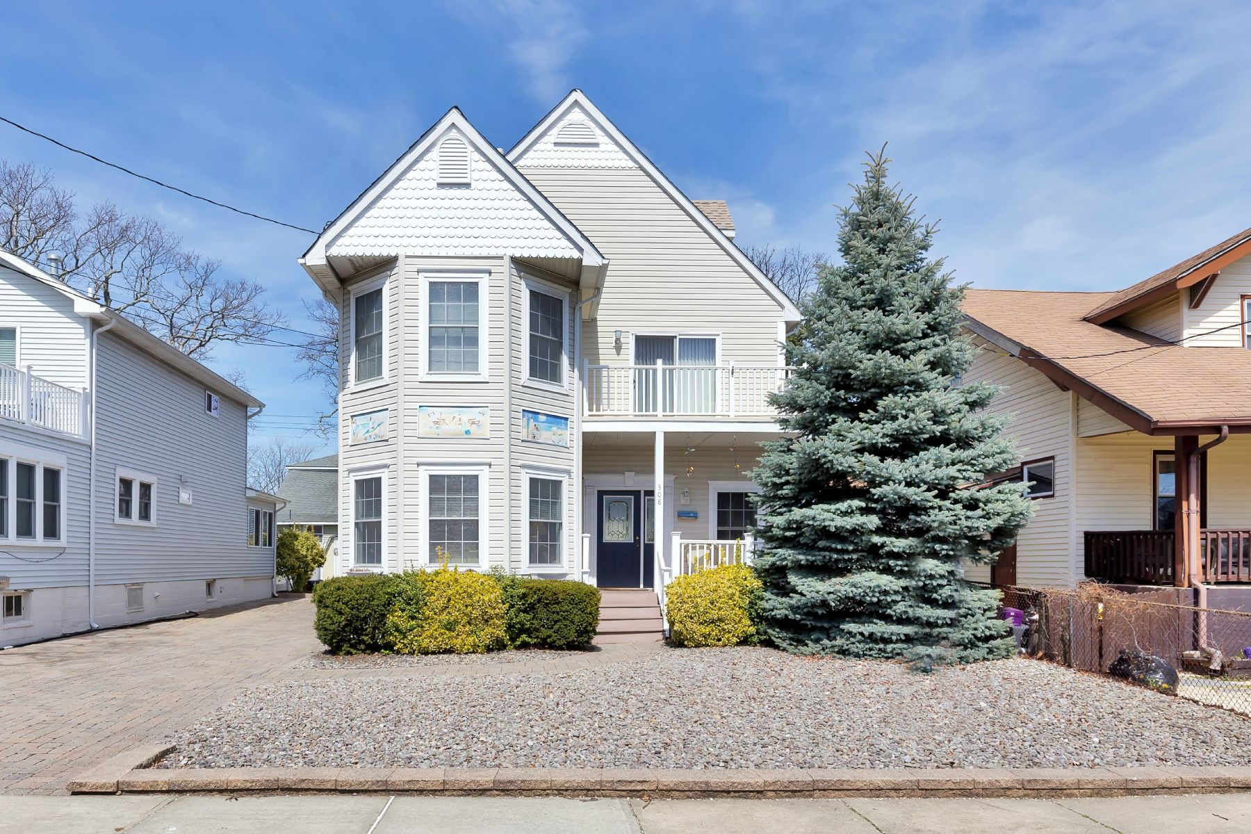 Single Family Home for Sale at Custom Shore Colonial 308 15th Avenue Belmar, New Jersey 07719 United States