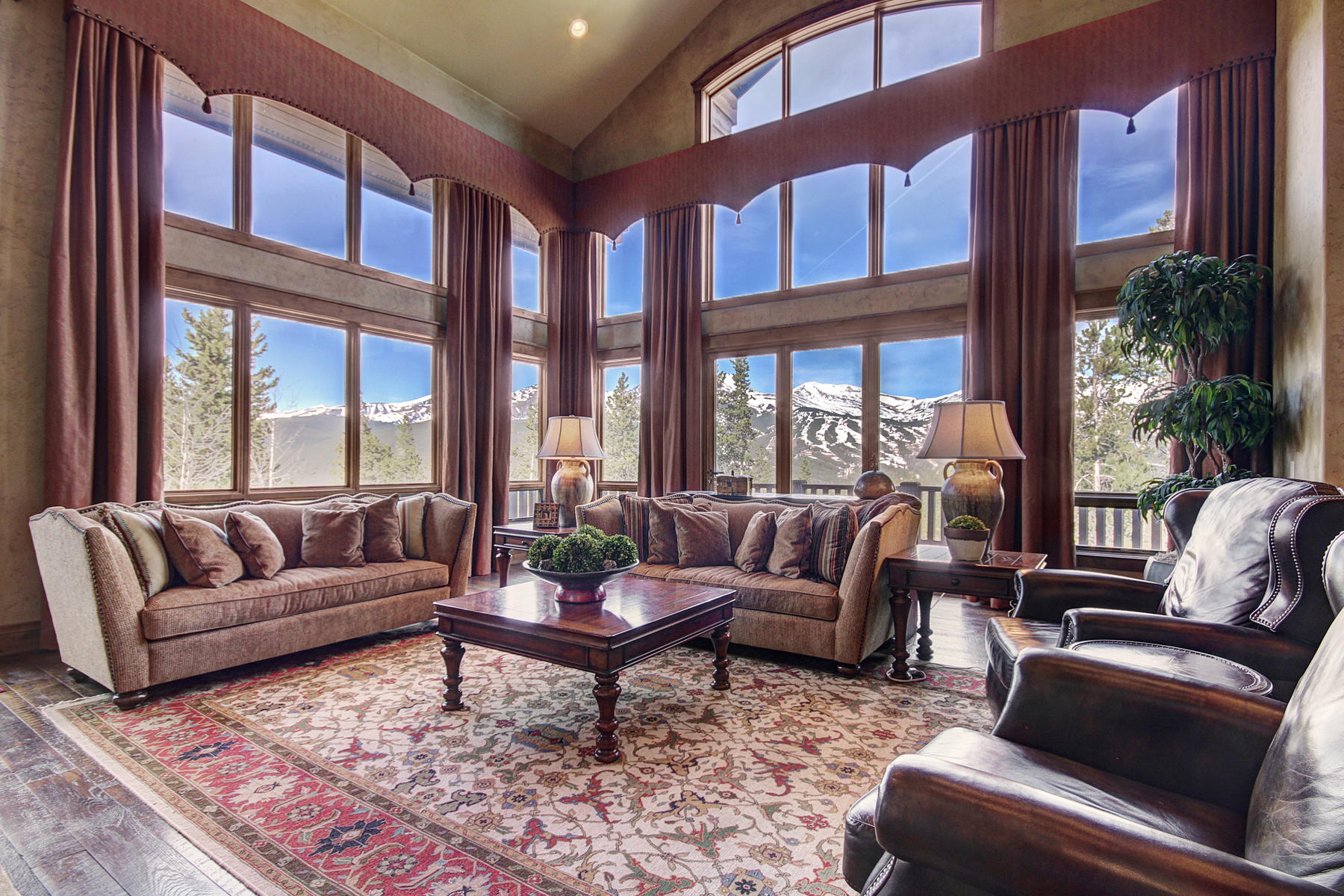 Single Family Home for Active at Picturesque Ski Area Views 86 Grey Jay Lane Breckenridge, Colorado 80424 United States