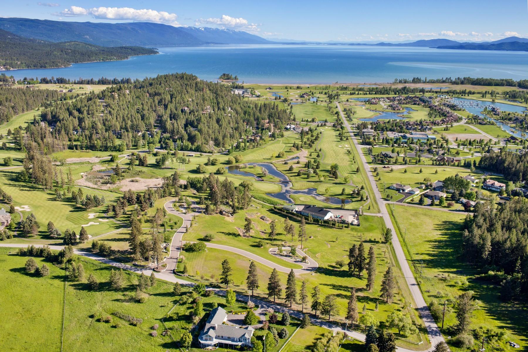 Terreno por un Venta en Eagle Rock 1125 Holt Drive Bigfork, Montana 59911 Estados Unidos