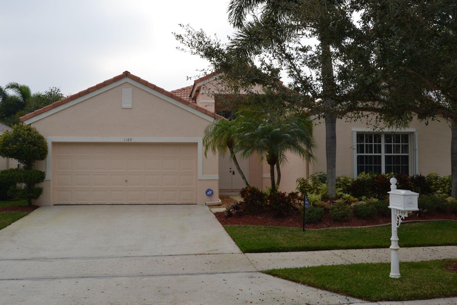 Casa para uma família para Locação às 1189 Falls Blvd Weston, Florida 33326 Estados Unidos