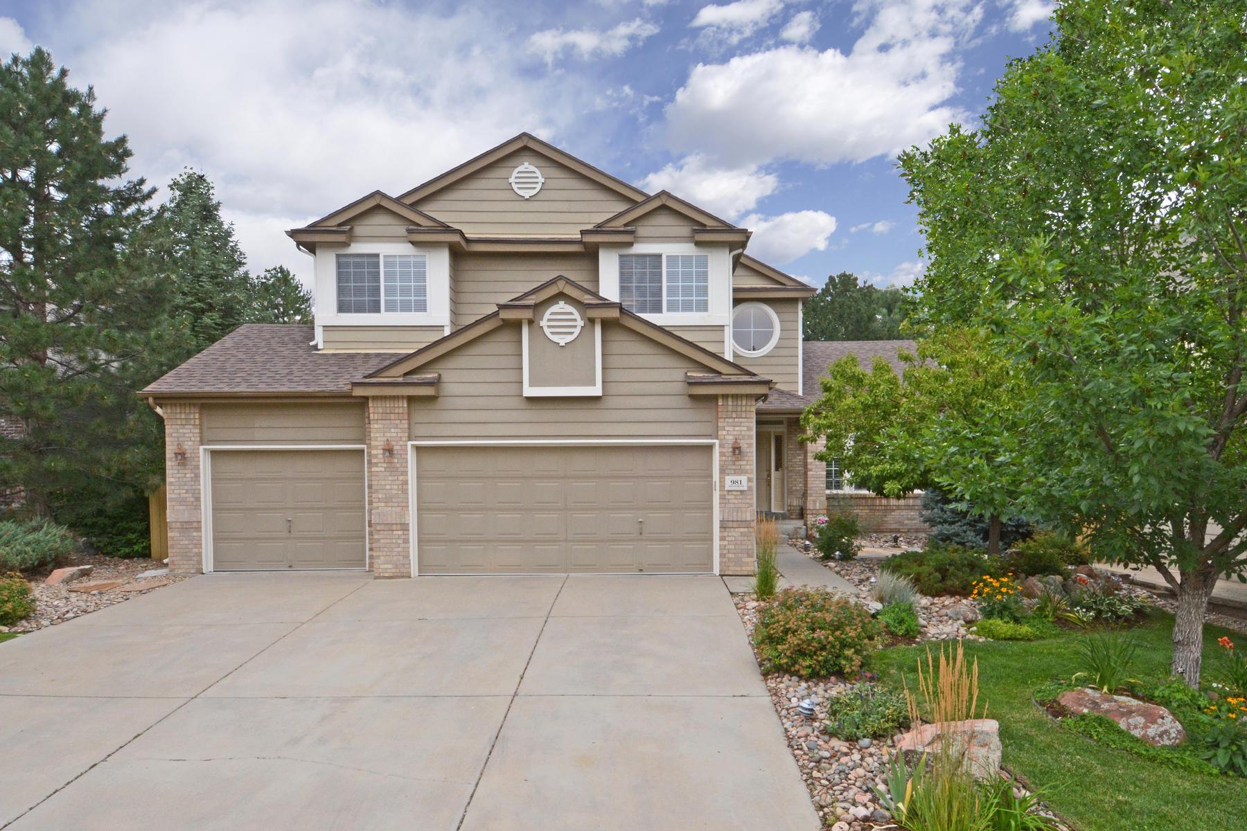 Maison unifamiliale pour l Vente à Gorgeous Updated Home With Beautiful Landscaping 981 Monroe Way Superior, Colorado, 80027 États-Unis