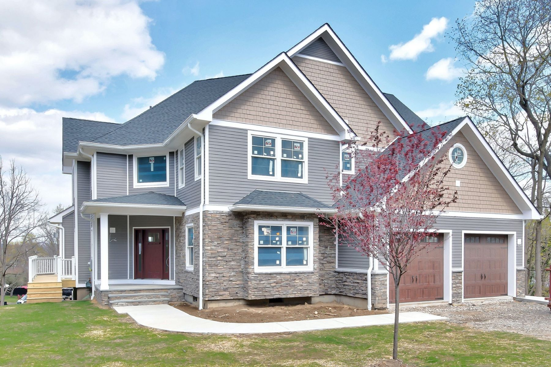 Single Family Homes for Active at Luxurious Custom New Construction 190 Mott Farm Road Stony Point, New York 10986 United States