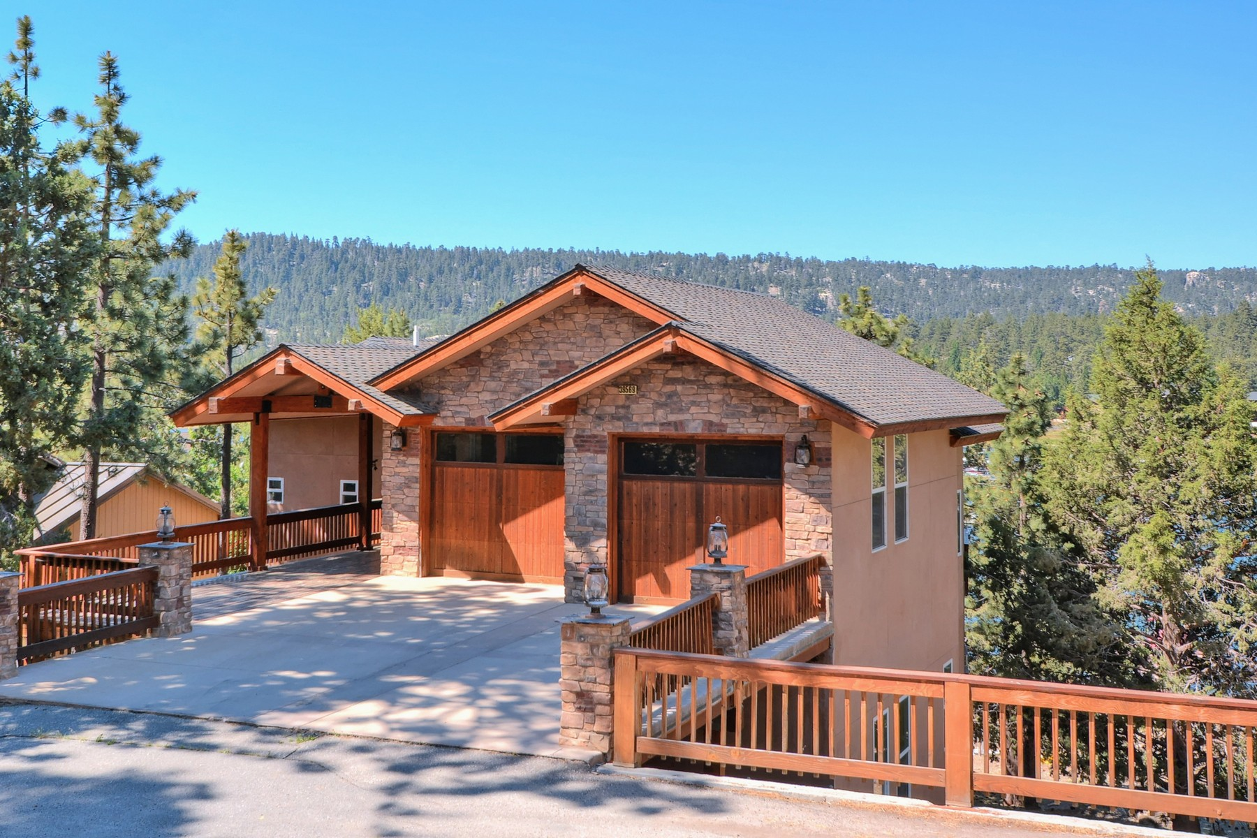 Single Family Homes for Sale at 39569 Lake Drive Big Bear Lake, CA 92315 39569 Lake Drive Big Bear Lake, California 92315 United States
