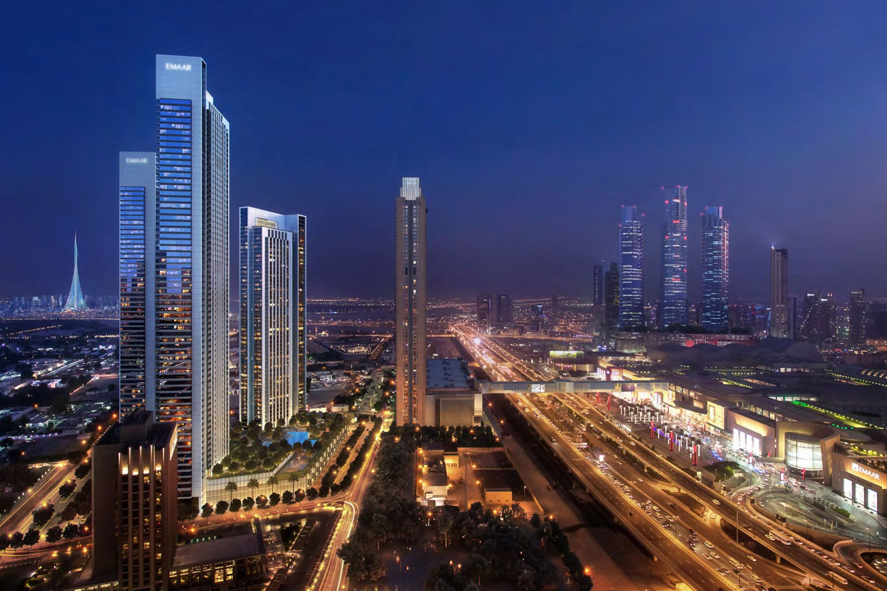 Apartments for Sale at 1 Bedroom Downtown Views II Tower 3 Downtown Dubai Downtown Views II Dubai, Dubai 00000 United Arab Emirates