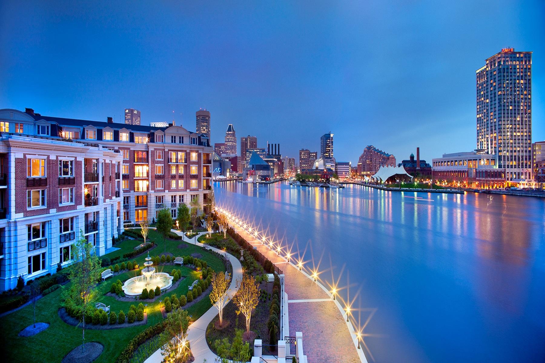 共管物業 為 出售 在 The Ritz-Carlton Residences 801 Key Highway, #231, Baltimore, 馬里蘭州, 21230 美國