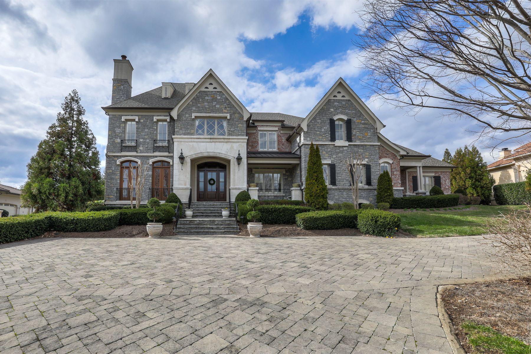 Maison unifamiliale pour l Vente à Exclusive Annandale Residence 367 Jones Parkway Brentwood, Tennessee, 37027 États-Unis