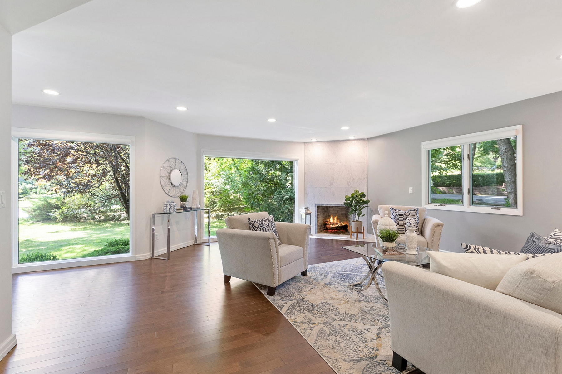 Single Family Home for Sale at Exquisite Modern Bergen County Masterpiece In A Premier Location. 12 Mill Road Extension, Woodcliff Lake, New Jersey 07677 United States