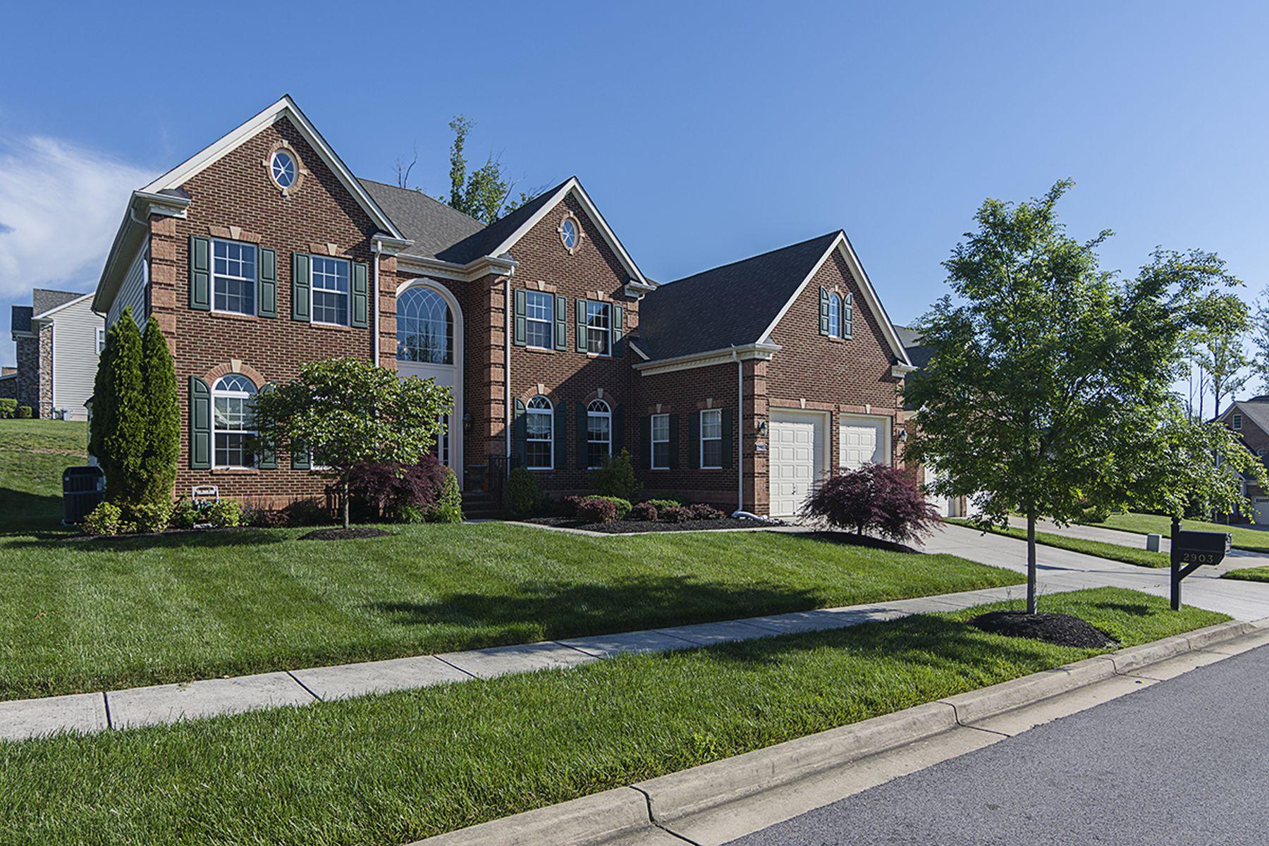 独户住宅 为 销售 在 2903 Beech Orchard Lane, Upper Marlboro 2903 Beech Orchard Ln 上马尔伯勒, 马里兰州, 20774 美国
