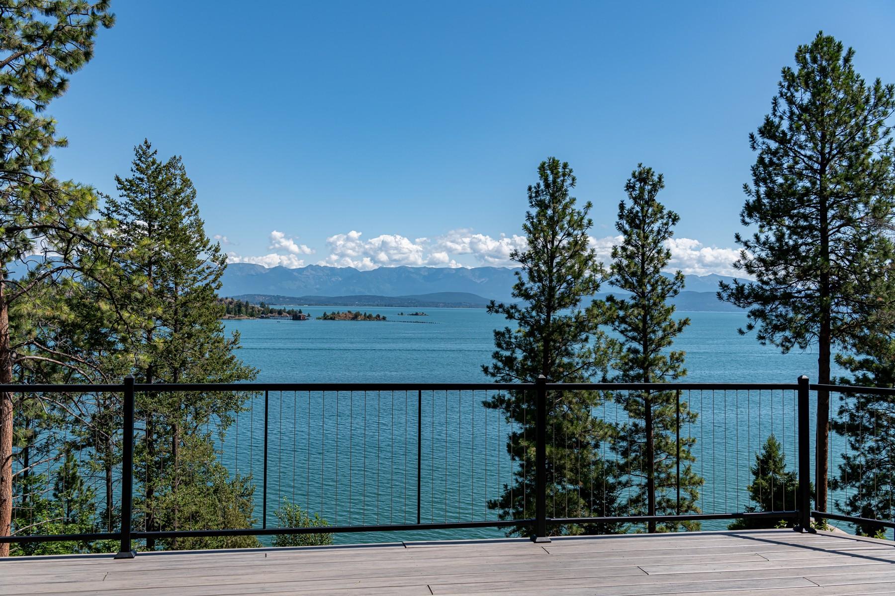 Single Family Homes для того Продажа на Somers, Монтана 59932 Соединенные Штаты