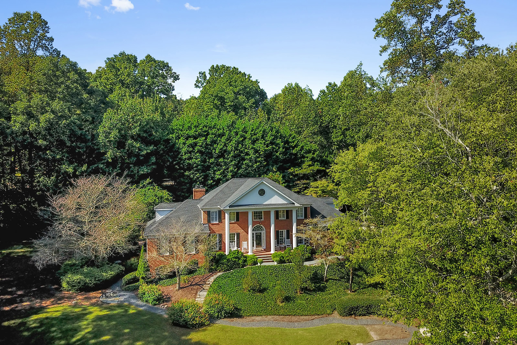 Single Family Home for Sale at Very Private Dunwoody Estate 1475 Masters Club Drive Sandy Springs, Georgia 30350 United States