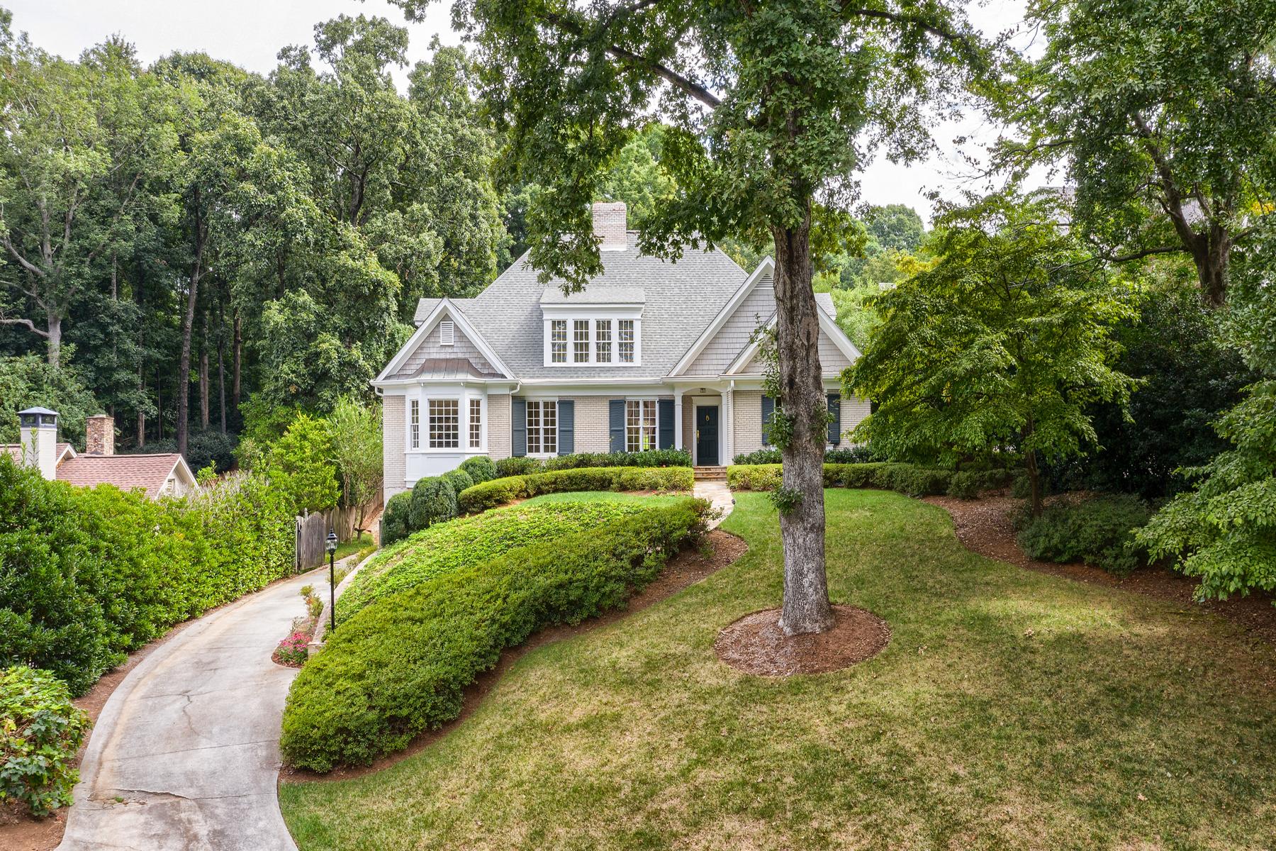 Additional photo for property listing at Prime Buckhead Traditional 71 Blackland Road NW Atlanta, Georgia 30342 United States