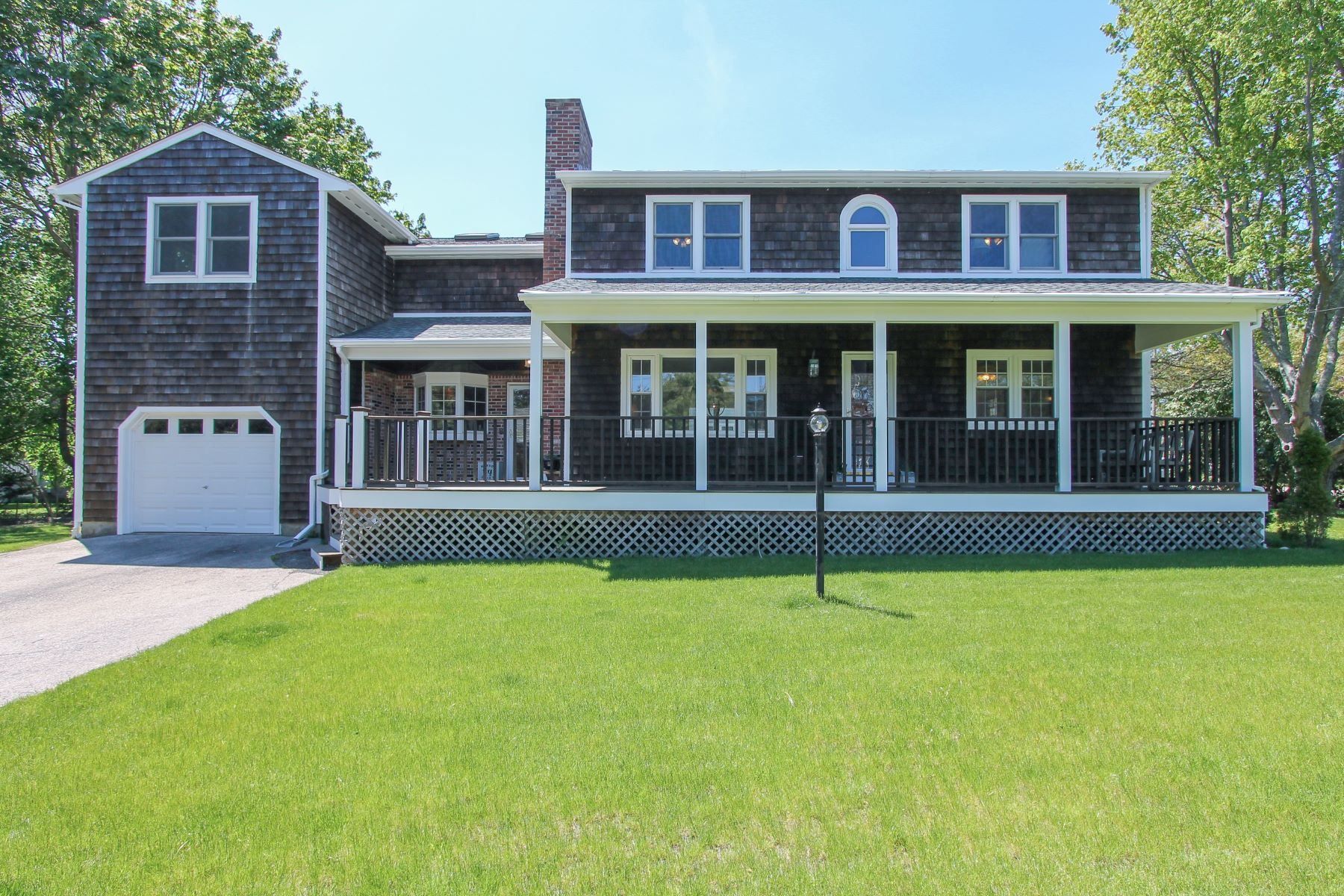 Single Family Homes for Sale at Jamestown Shores Home 433 Beacon Avenue Jamestown, Rhode Island 02835 United States