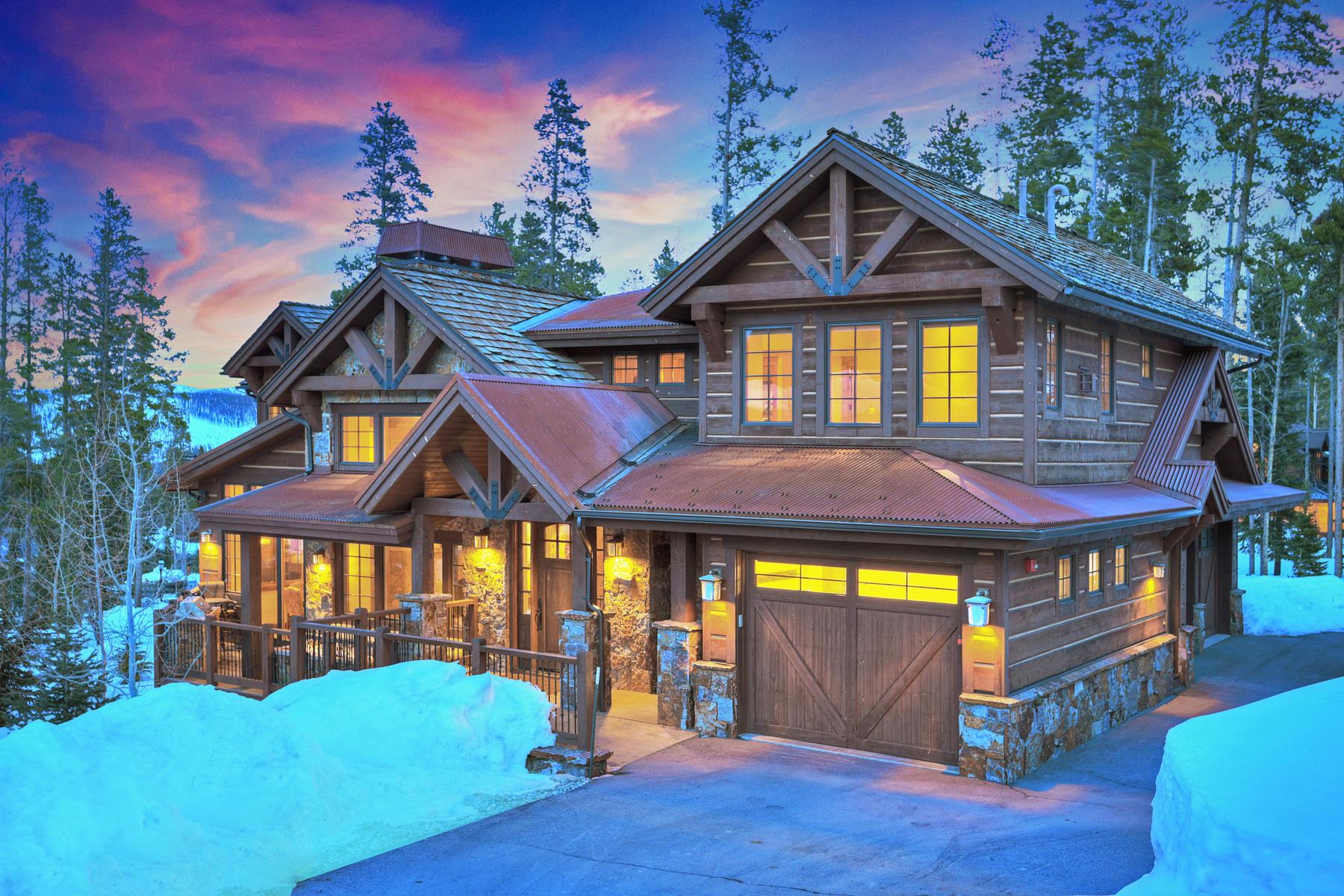 Single Family Homes for Sale at Location! Location! Location! 1296 Glenwild Drive Breckenridge, Colorado 80424 United States