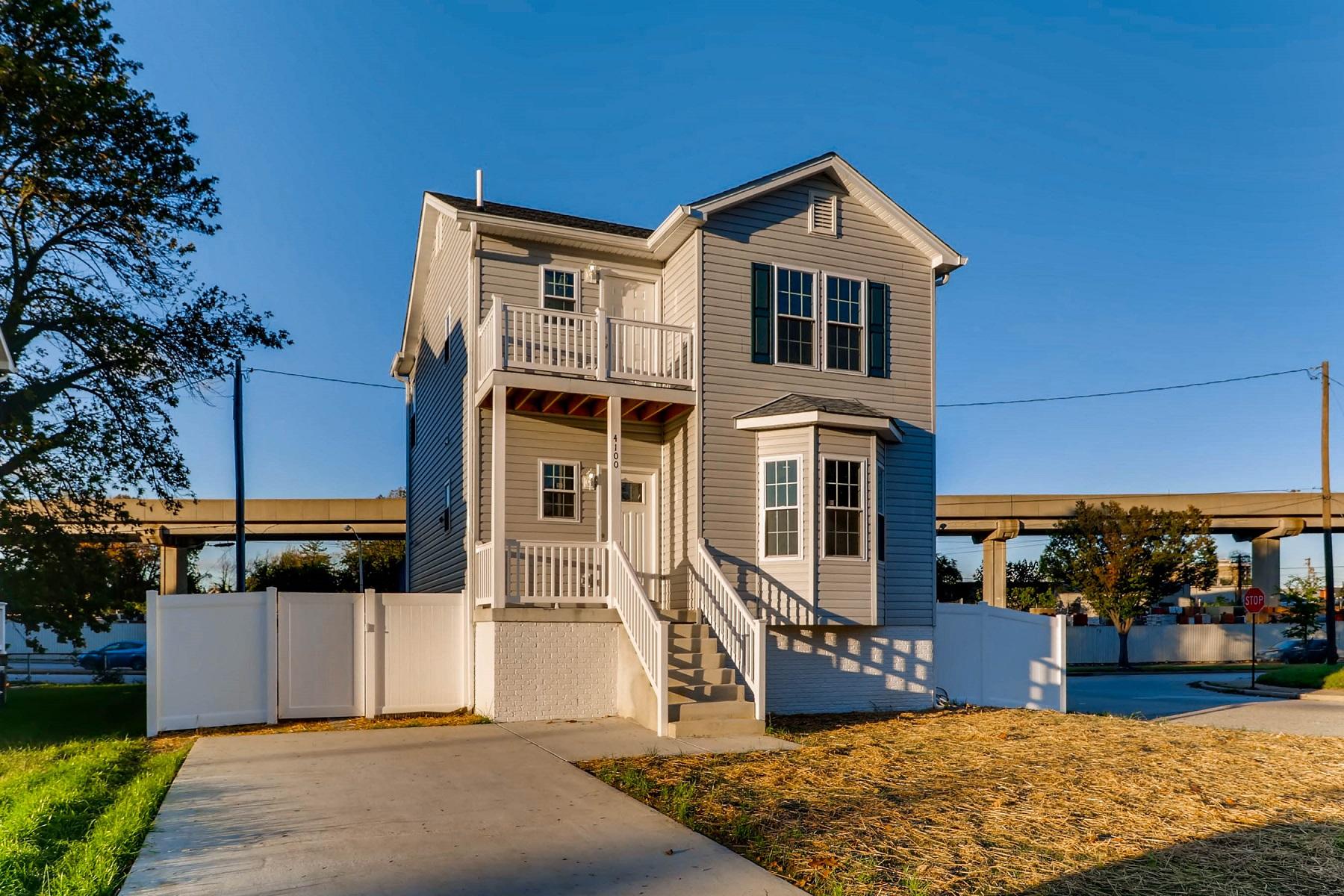独户住宅 为 销售 在 Park Heights 4100 Elderon Avenue, 巴尔的摩, 马里兰州, 21215 美国