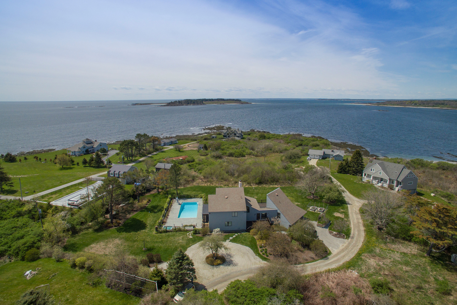 Single Family Home for Sale at 18 Angell Point Road Cape Elizabeth, Maine, 04107 United States
