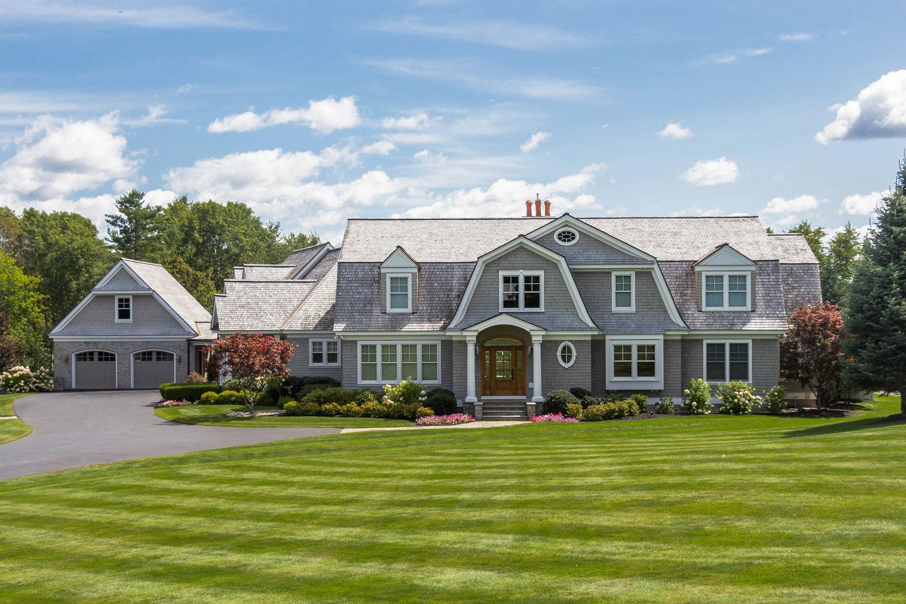 Частный односемейный дом для того Продажа на Nantucket Style Mansion in Niskayuna Countryside 341 Vly Rd Niskayuna, Нью-Йорк 12309 Соединенные Штаты