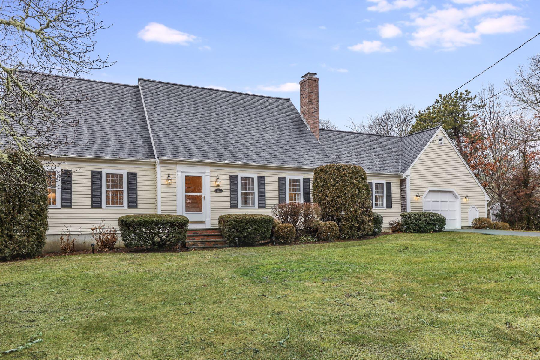 Single Family Homes por un Venta en 121 Cedar Hill Road 121 Cedar Hill Rd Dennis, Massachusetts 02641 Estados Unidos