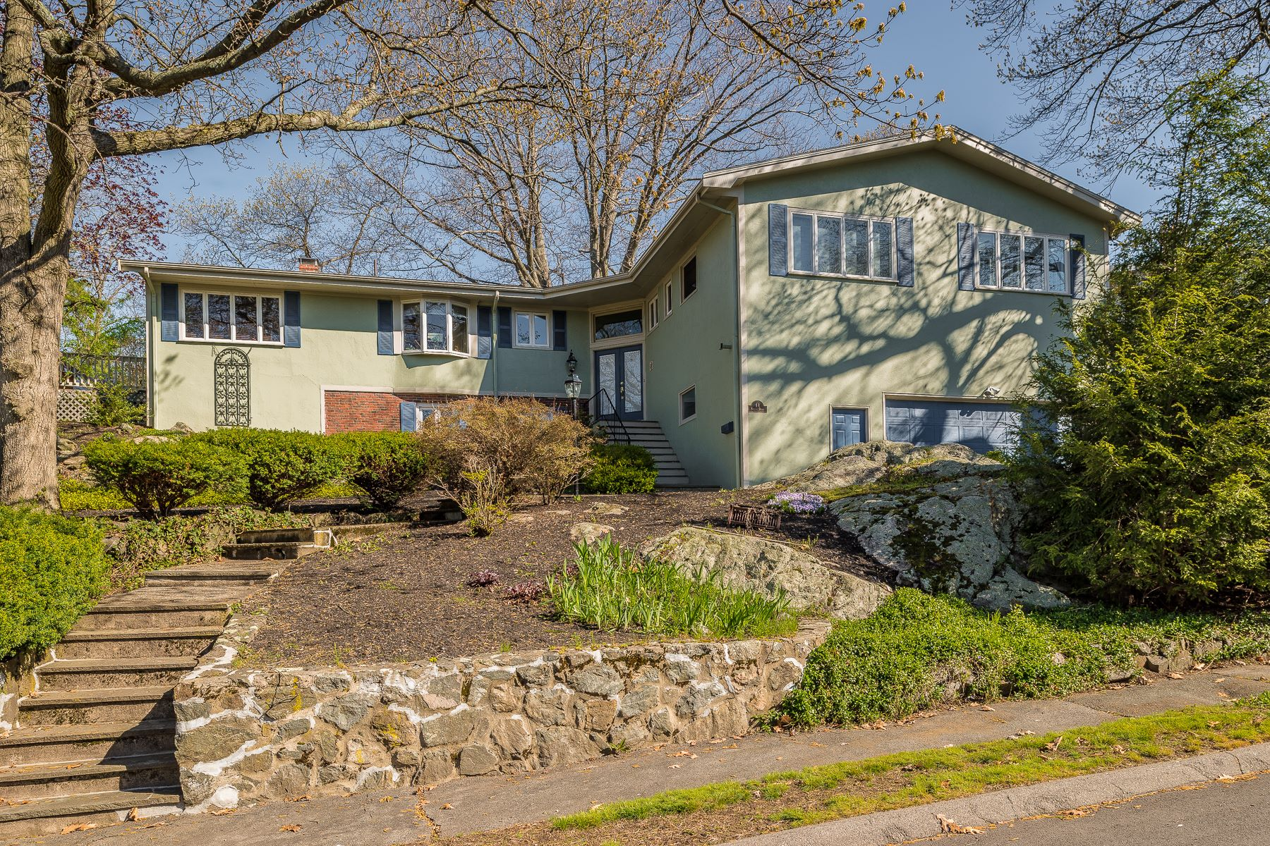 Single Family Home for Sale at Large Contemporary on a Secluded Street 14 Parsons Drive Swampscott, Massachusetts, 01907 United States