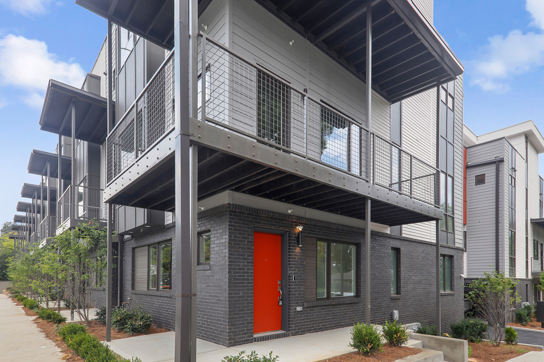 Madison Village Is A Community of 16 Artfully Designed Contemporary Townhomes 1145 Kirkwood Avenue SE No. 10, Atlanta, Georgia 30316 Stati Uniti