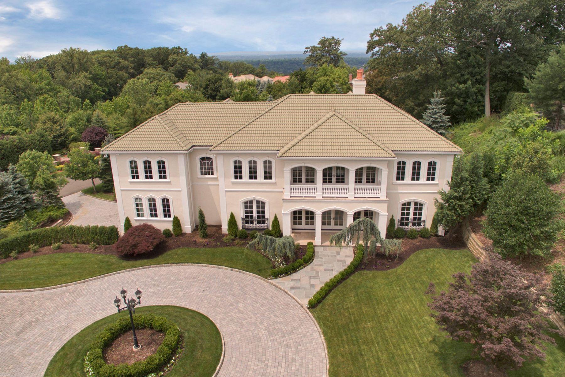Частный односемейный дом для того Продажа на Mediterranean Style 187 Vaccaro Dr. Cresskill, Нью-Джерси, 07626 Соединенные Штаты