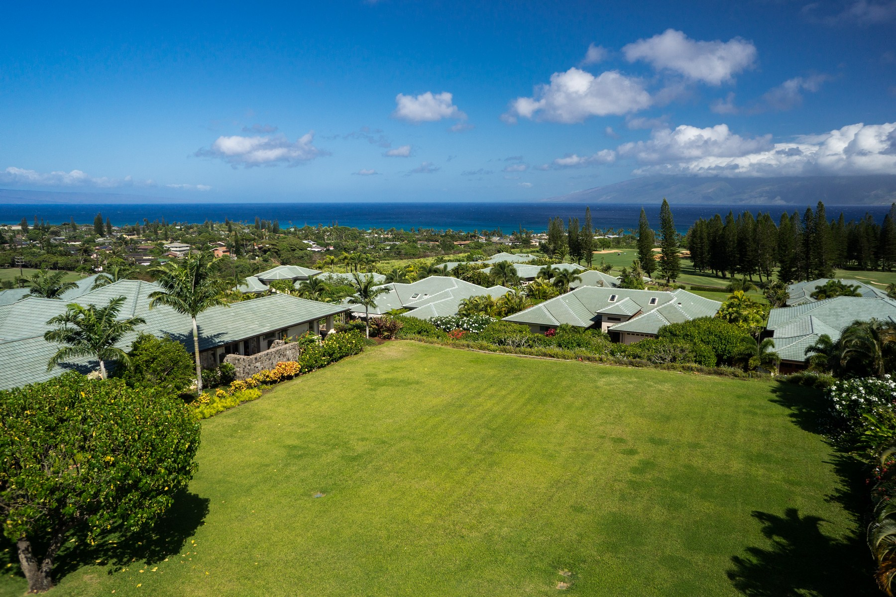 Land for Sale at Ocean And Island View Home Site In The Kapalua Resort 230 Crestview Road Kapalua, Hawaii, 96761 United States