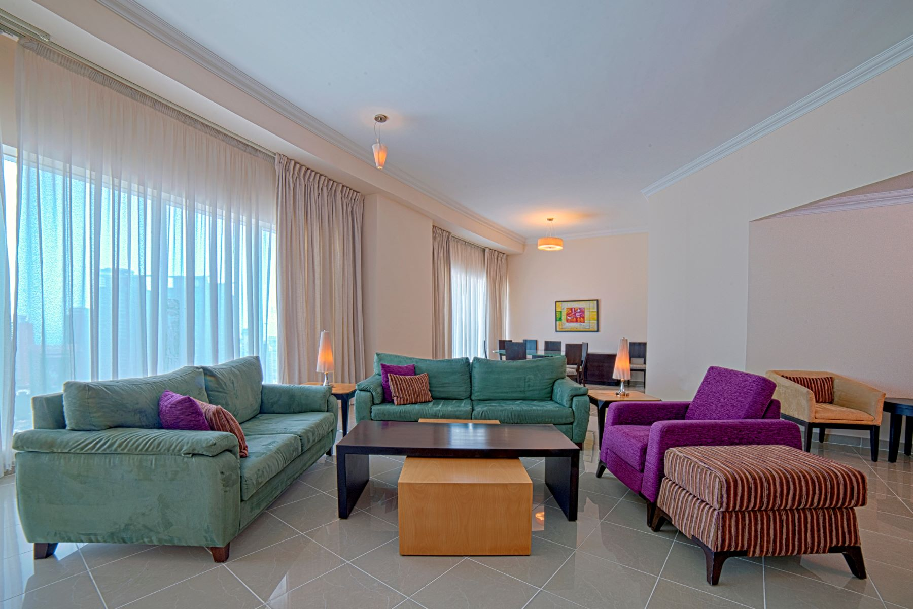 2 Bed Apartment Fully Furnished West Bay Doha, Al Dawha Katar