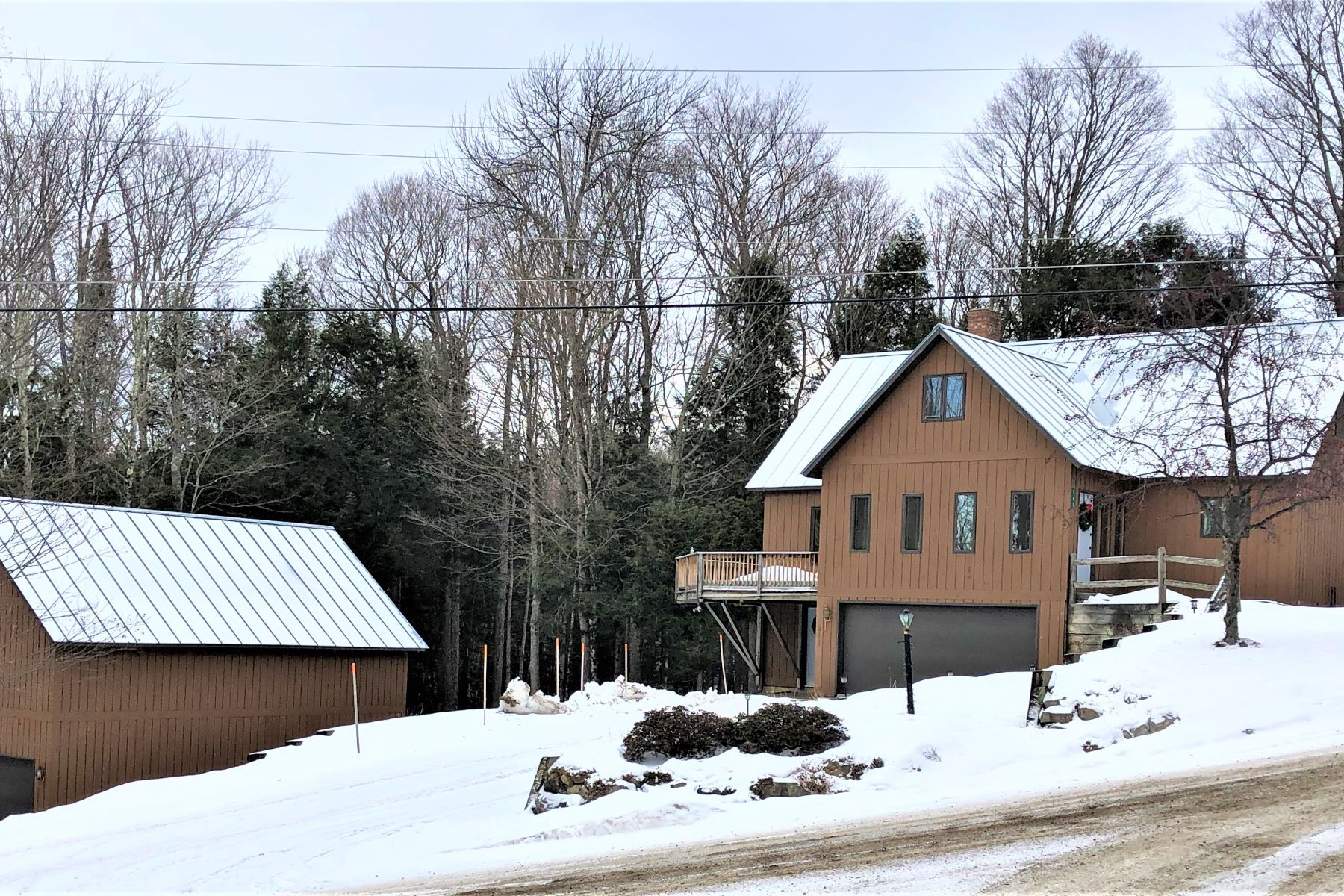 Single Family Homes for Sale at Burke Mountain Ski Home 543 High Meadows Road Burke, Vermont 05832 United States