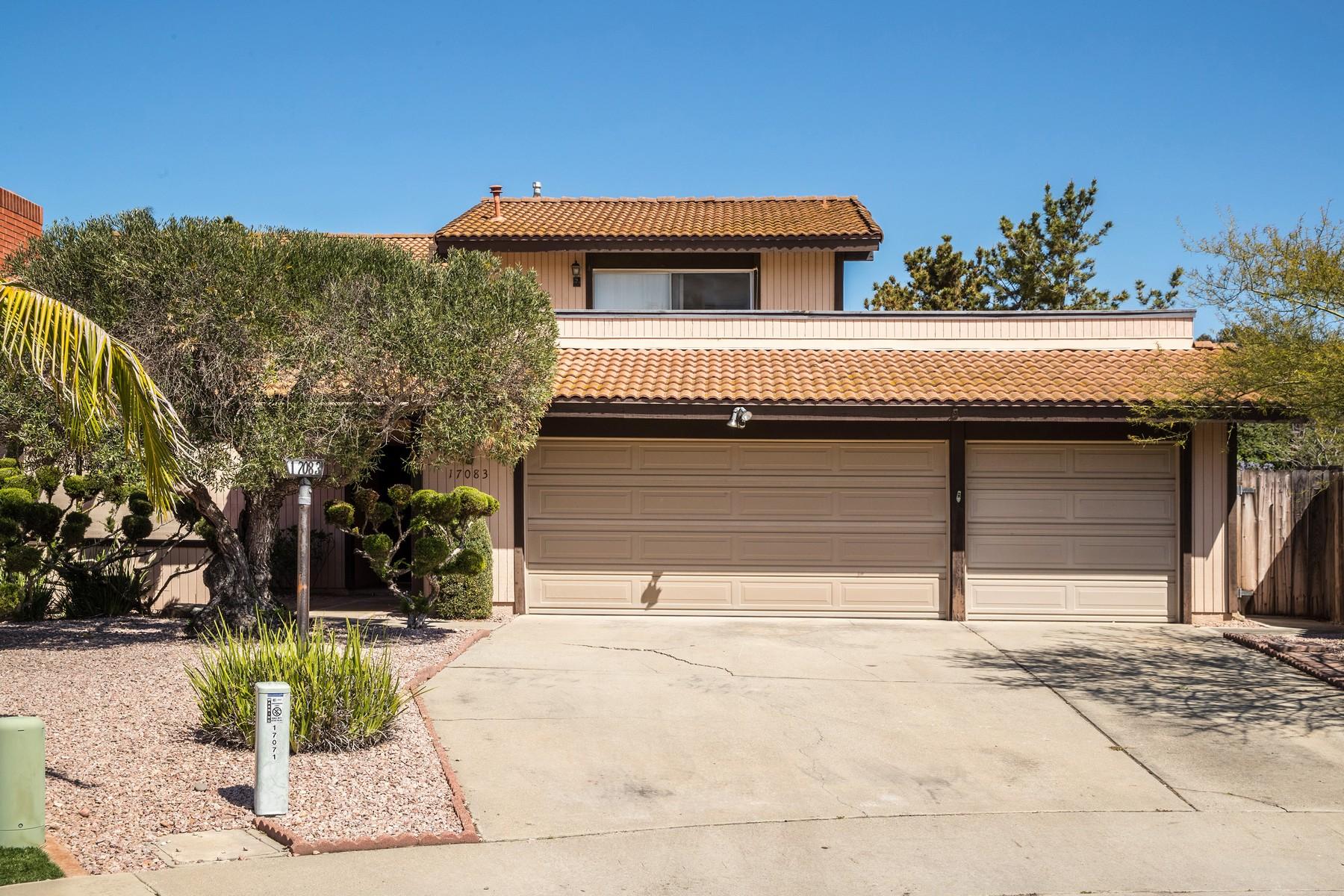 Частный односемейный дом для того Продажа на 17083 Abra Way San Diego, Калифорния 92128 Соединенные Штаты