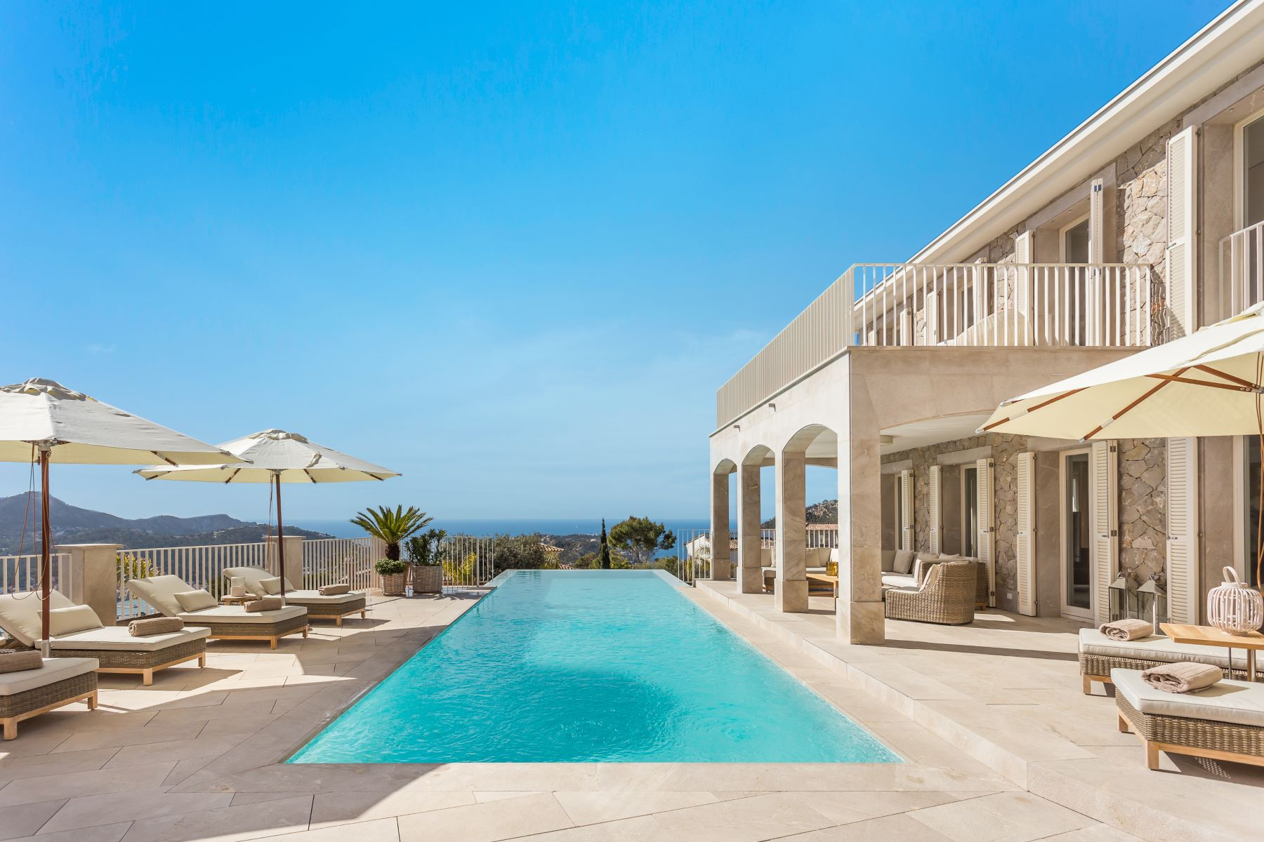 Single Family Home for Sale at Luxury villa with panoramic views in Port Andratx Port Andratx, Mallorca, Spain