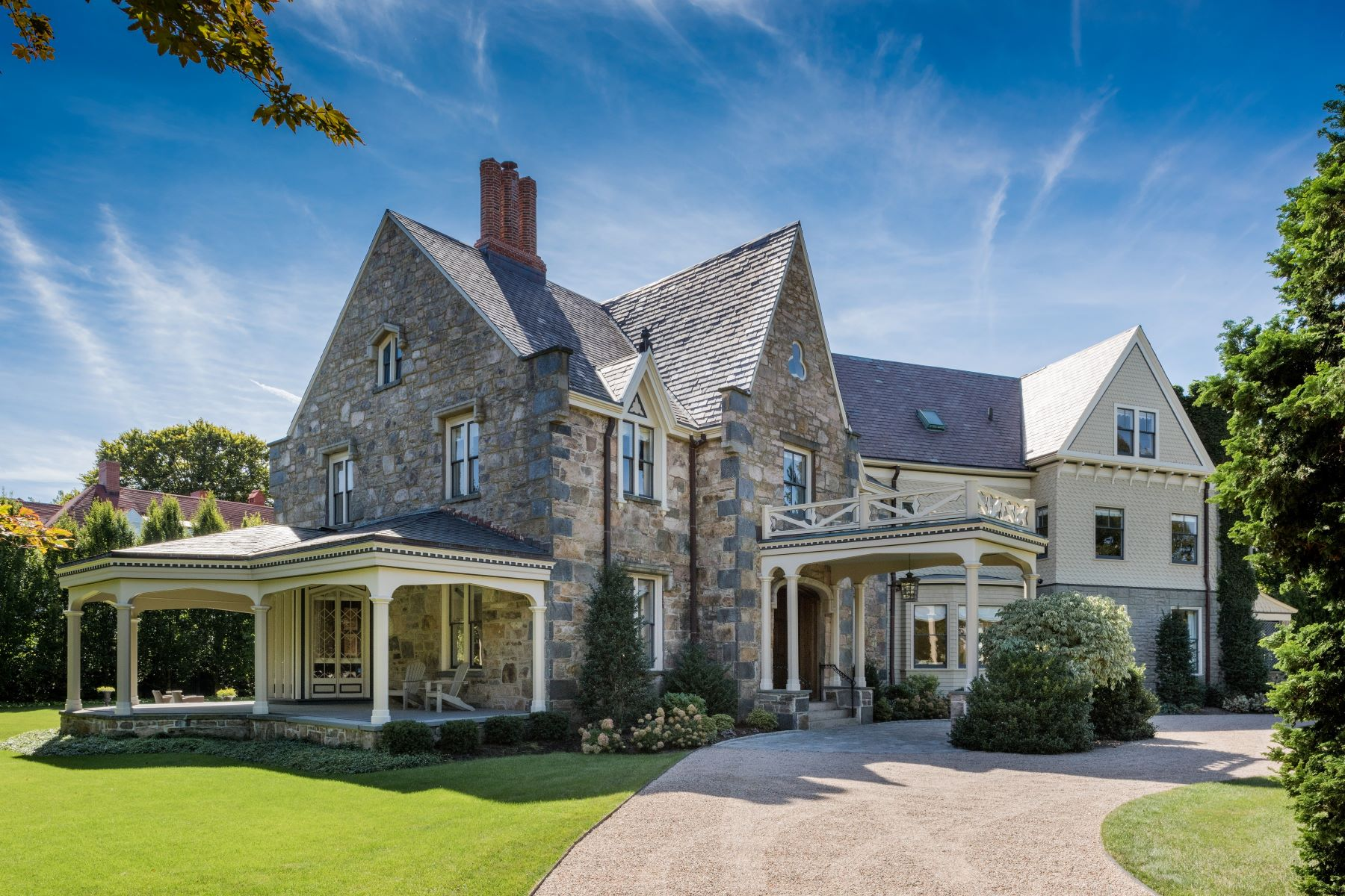 Single Family Home for Sale at Iconic Rockry Hall 425 Bellevue Avenue Newport, Rhode Island 02840 United States