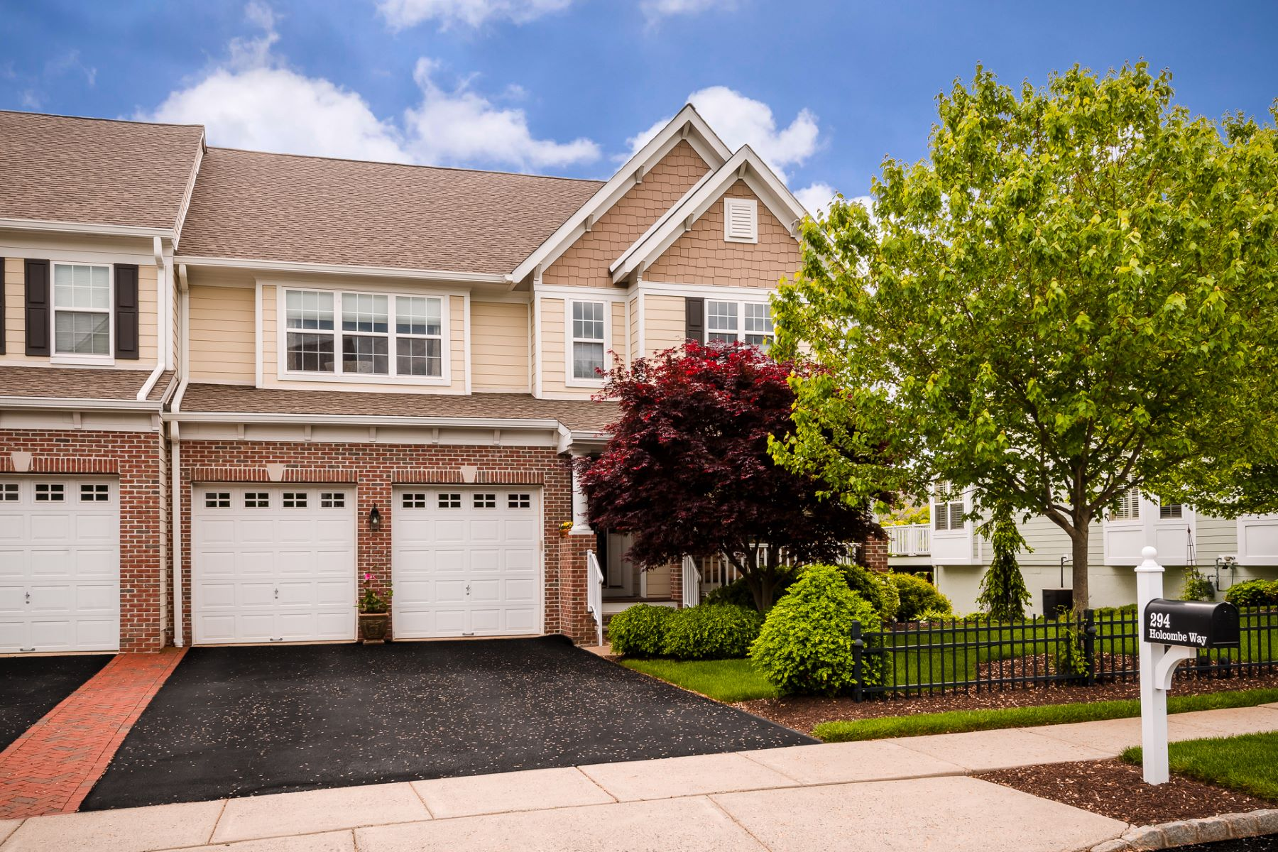 townhouses for Sale at Rare 4-Bedroom, 4-Bath Patterson In Lambert's Hill 294 Holcombe Way Lambertville, New Jersey 08530 United States