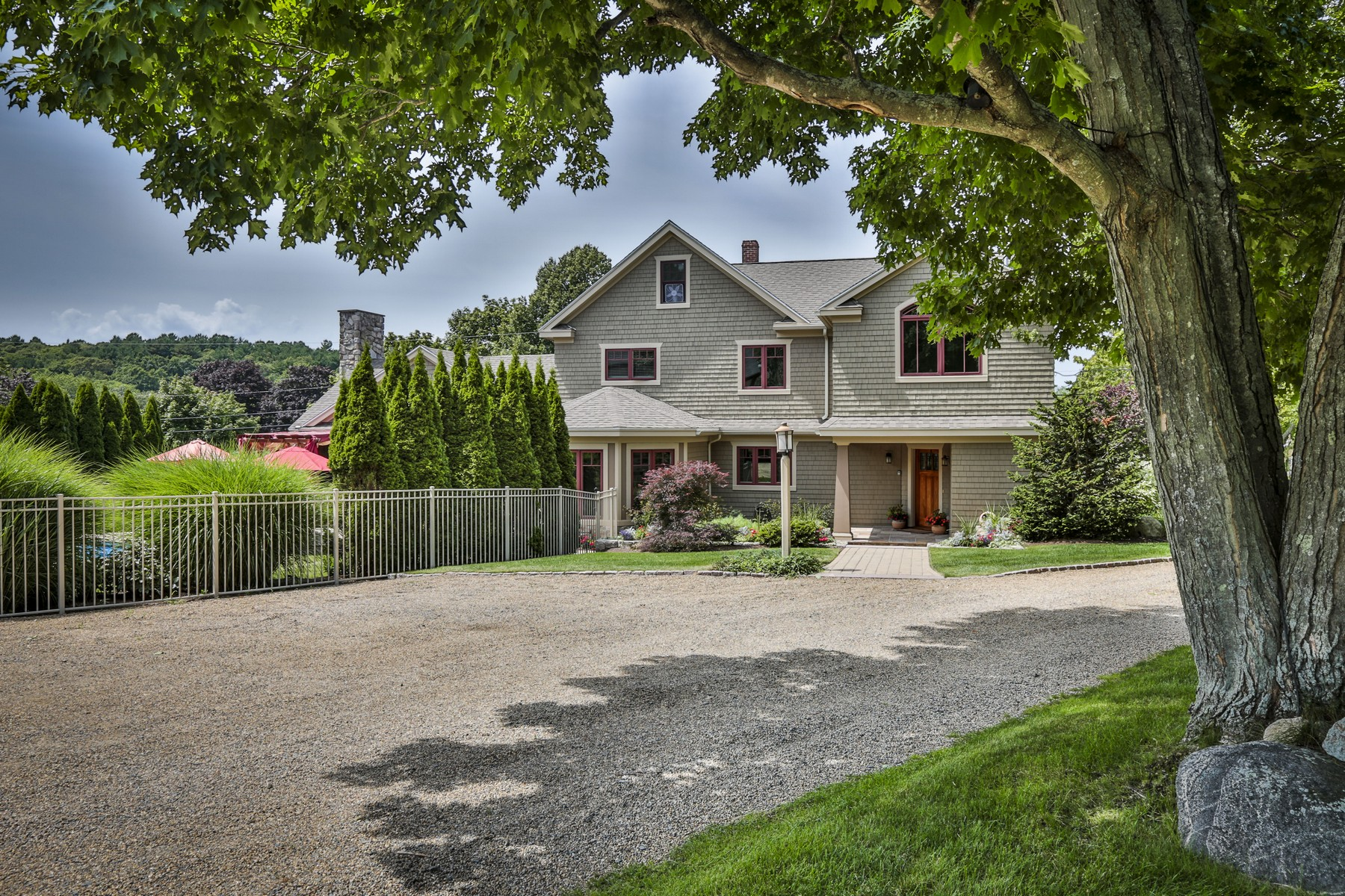 Single Family Home for Sale at Private Oasis in Essex 21 Spring Street Essex, Massachusetts 01929 United States